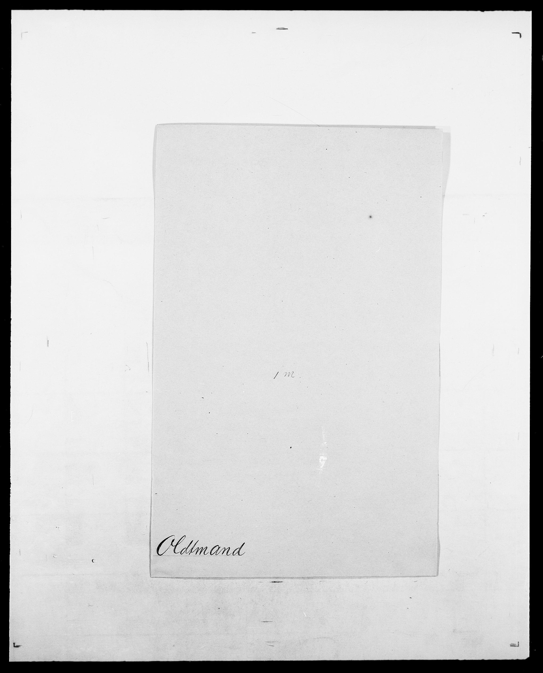 SAO, Delgobe, Charles Antoine - samling, D/Da/L0029: Obel - Oxholm, s. 105
