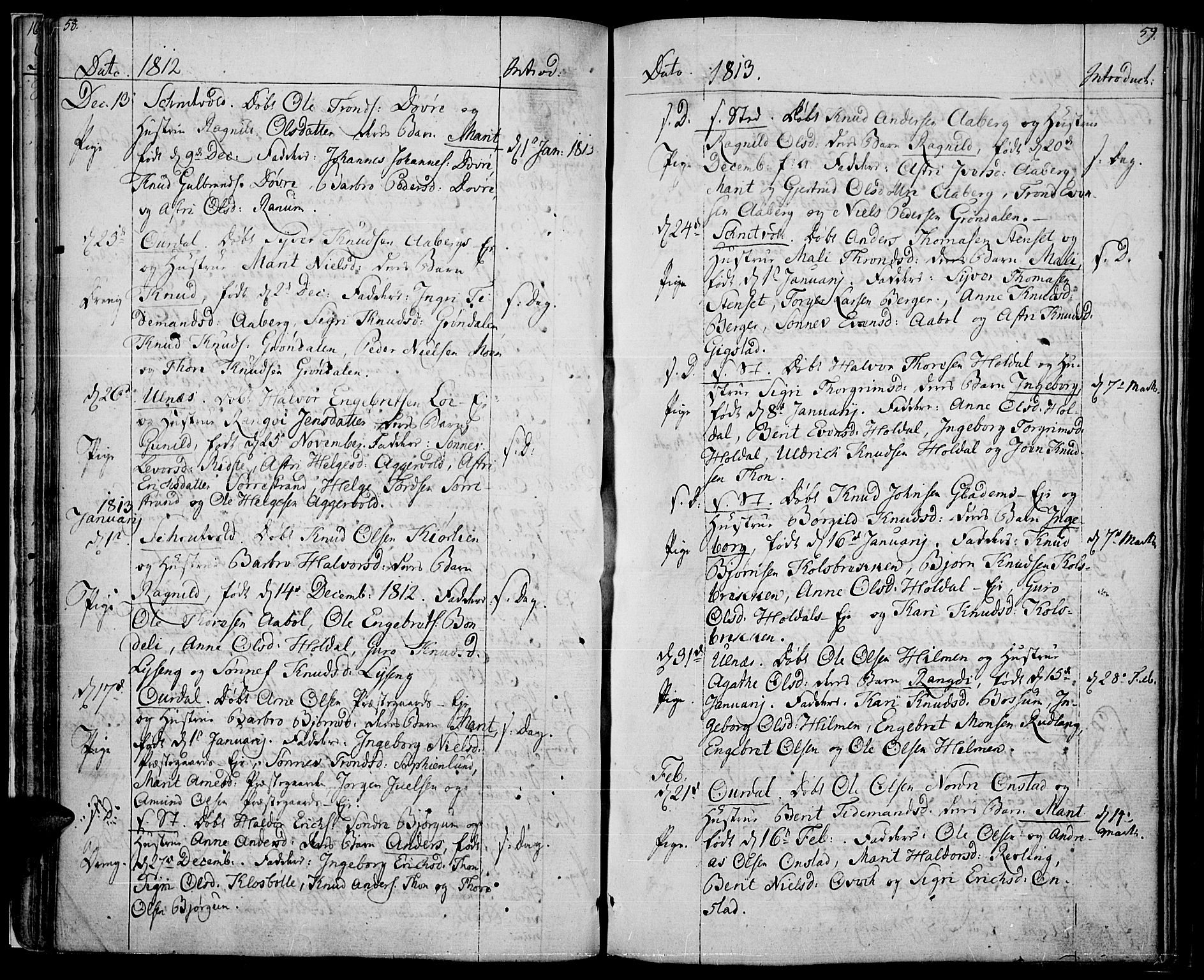 SAH, Nord-Aurdal prestekontor, Ministerialbok nr. 1, 1808-1815, s. 58-59