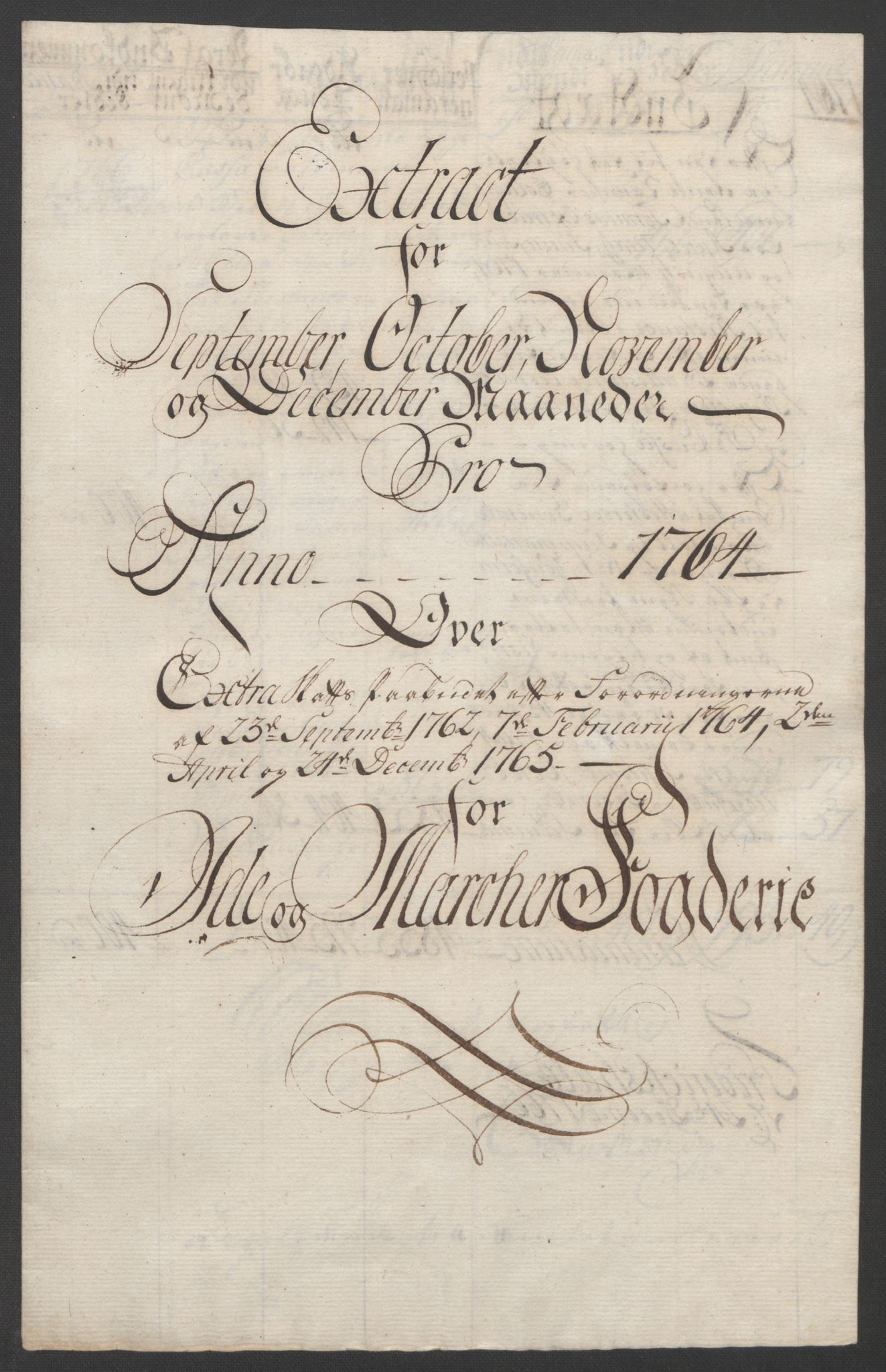 RA, Rentekammeret inntil 1814, Reviderte regnskaper, Fogderegnskap, R01/L0097: Ekstraskatten Idd og Marker, 1756-1767, s. 239
