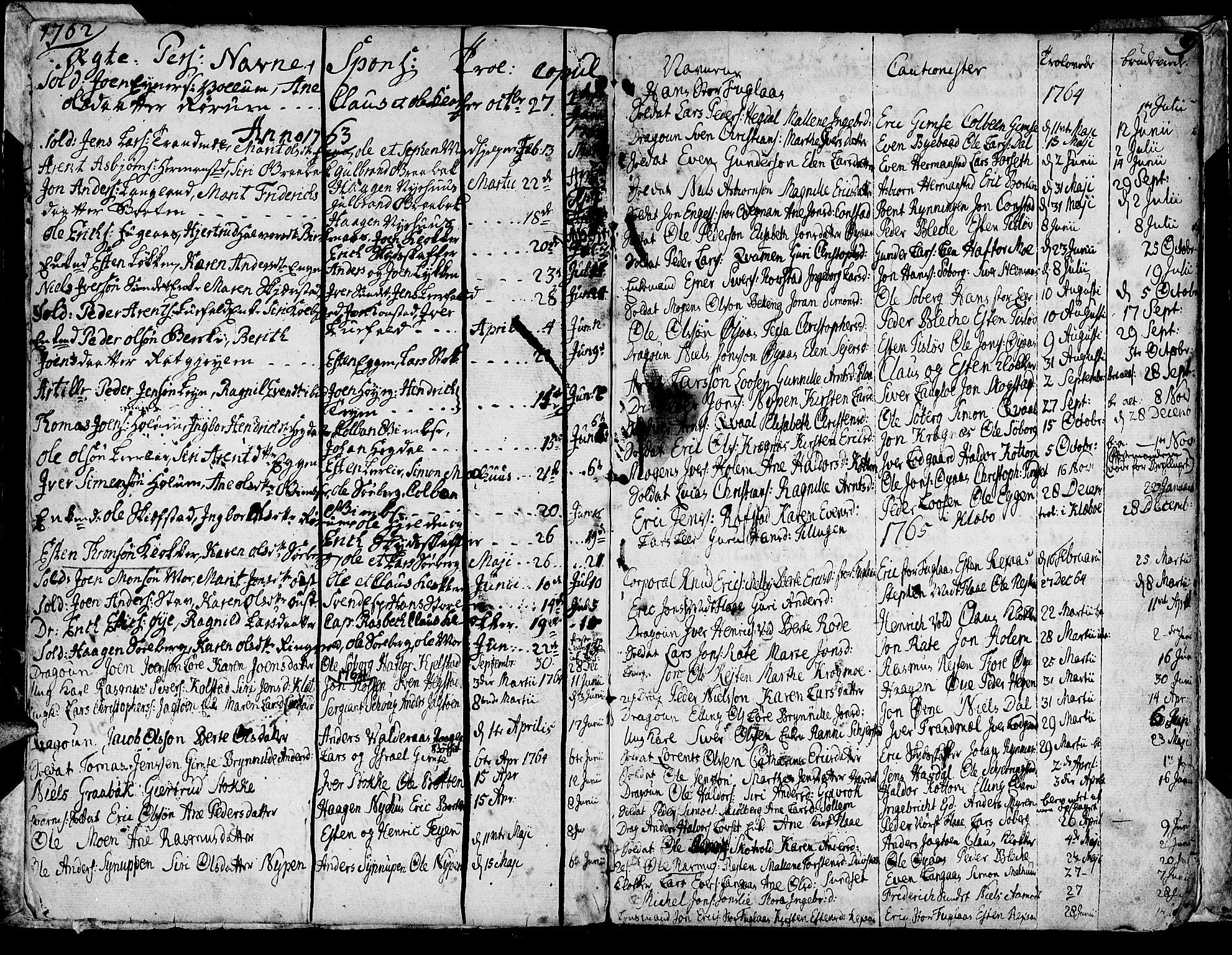 SAT, Ministerialprotokoller, klokkerbøker og fødselsregistre - Sør-Trøndelag, 691/L1057: Ministerialbok nr. 691A01 /1, 1740-1767, s. 9