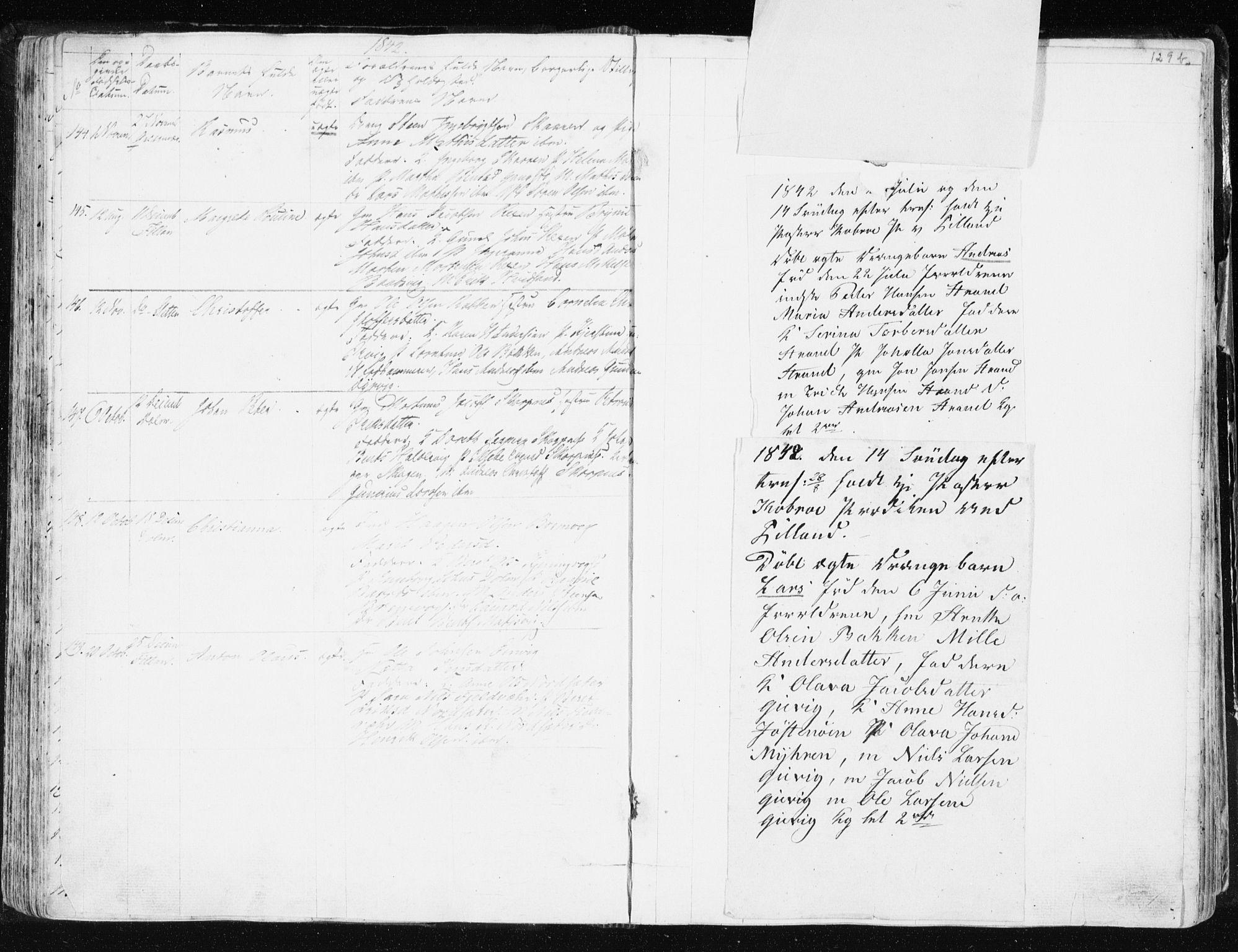 SAT, Ministerialprotokoller, klokkerbøker og fødselsregistre - Sør-Trøndelag, 634/L0528: Ministerialbok nr. 634A04, 1827-1842, s. 129b