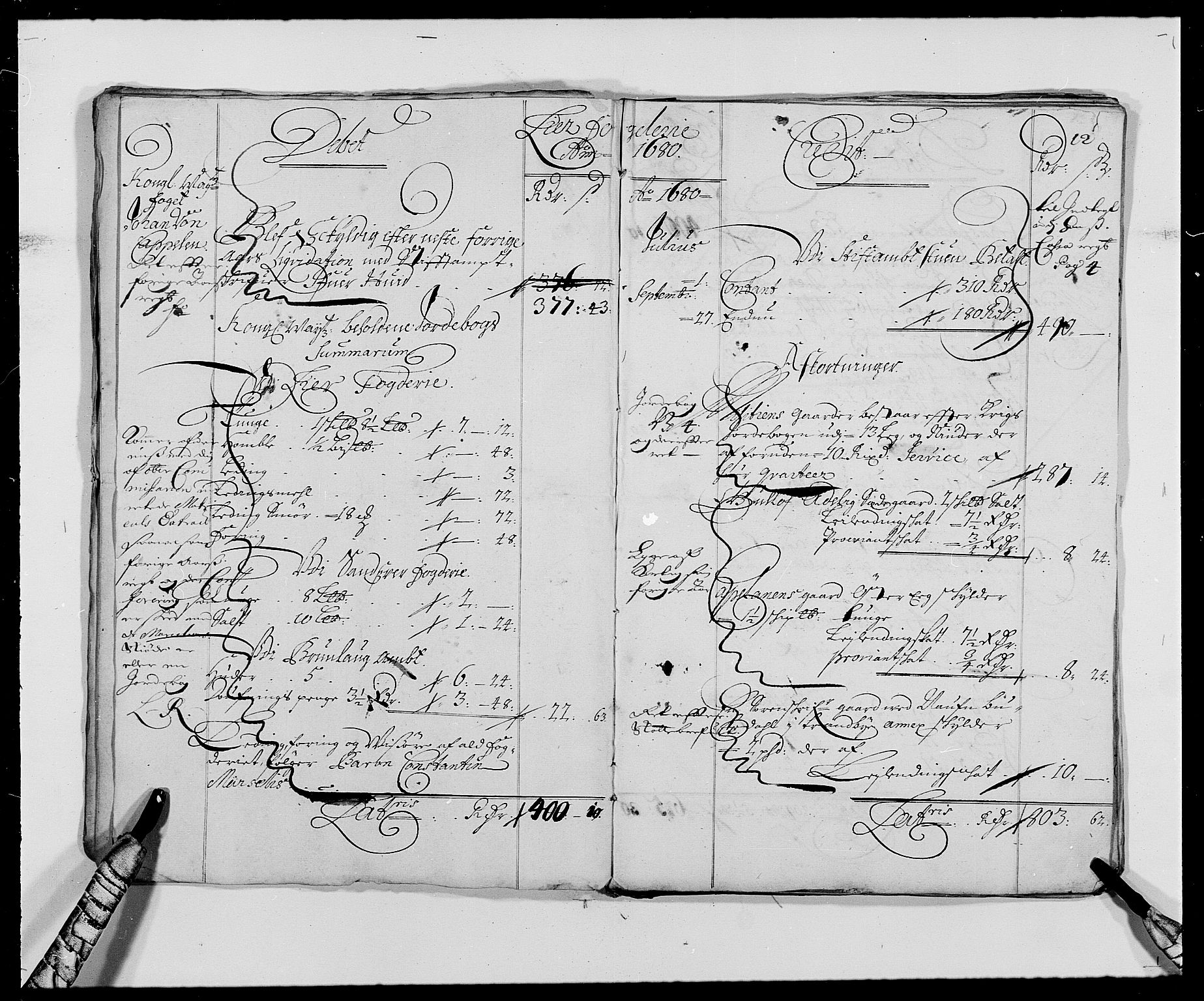 RA, Rentekammeret inntil 1814, Reviderte regnskaper, Fogderegnskap, R27/L1686: Fogderegnskap Lier, 1678-1686, s. 15