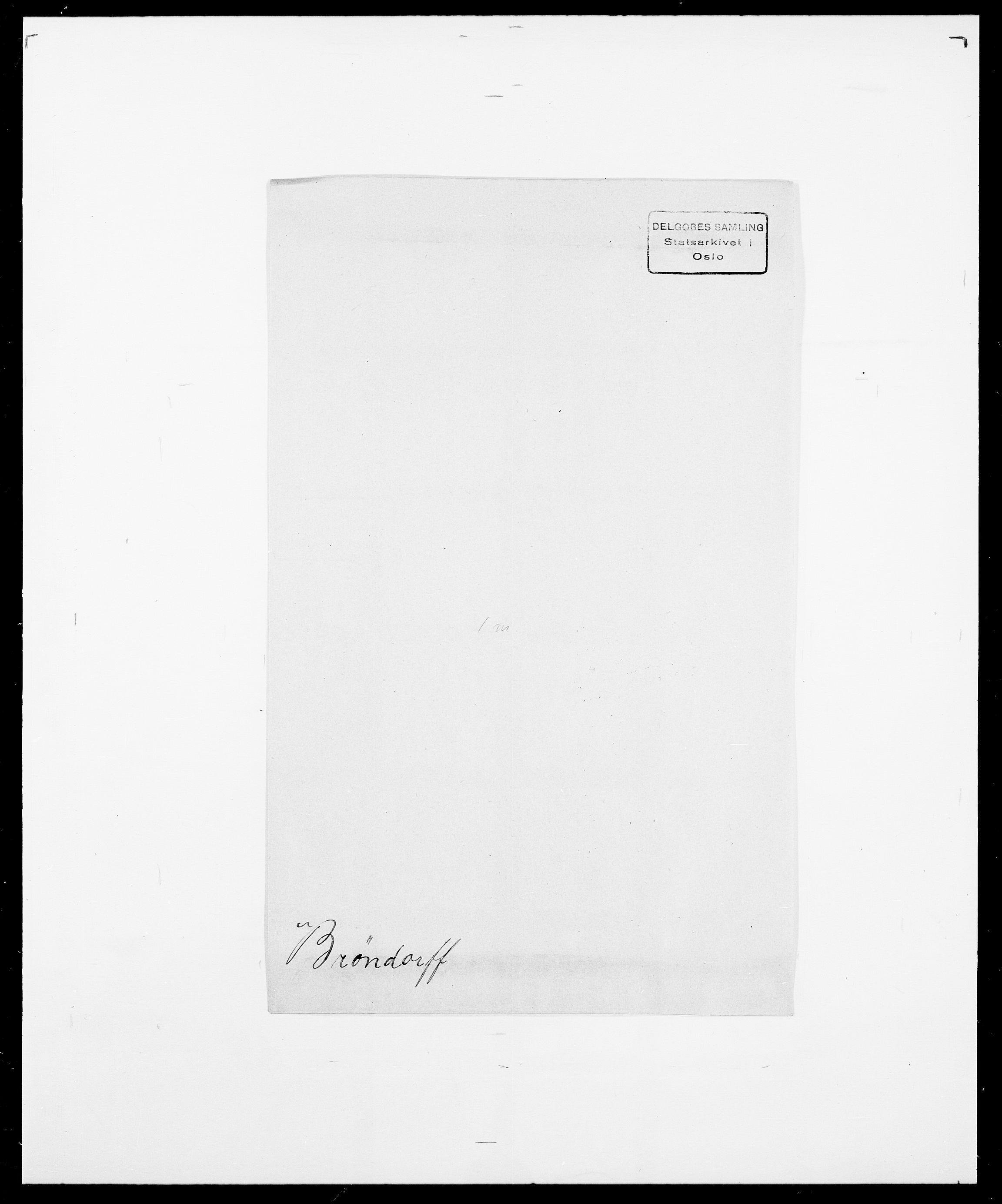 SAO, Delgobe, Charles Antoine - samling, D/Da/L0006: Brambani - Brønø, s. 963