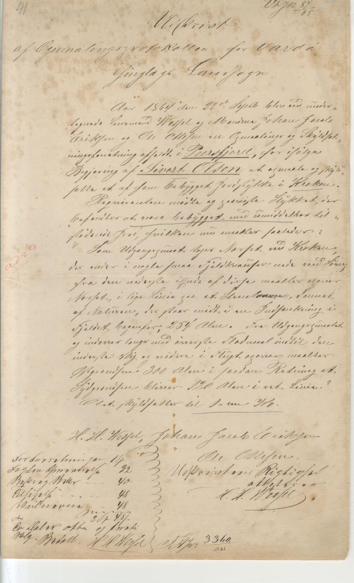 VAMU, Brodtkorb handel A/S, Q/Qb/L0003: Faste eiendommer i Vardø Herred, 1862-1939, s. 105