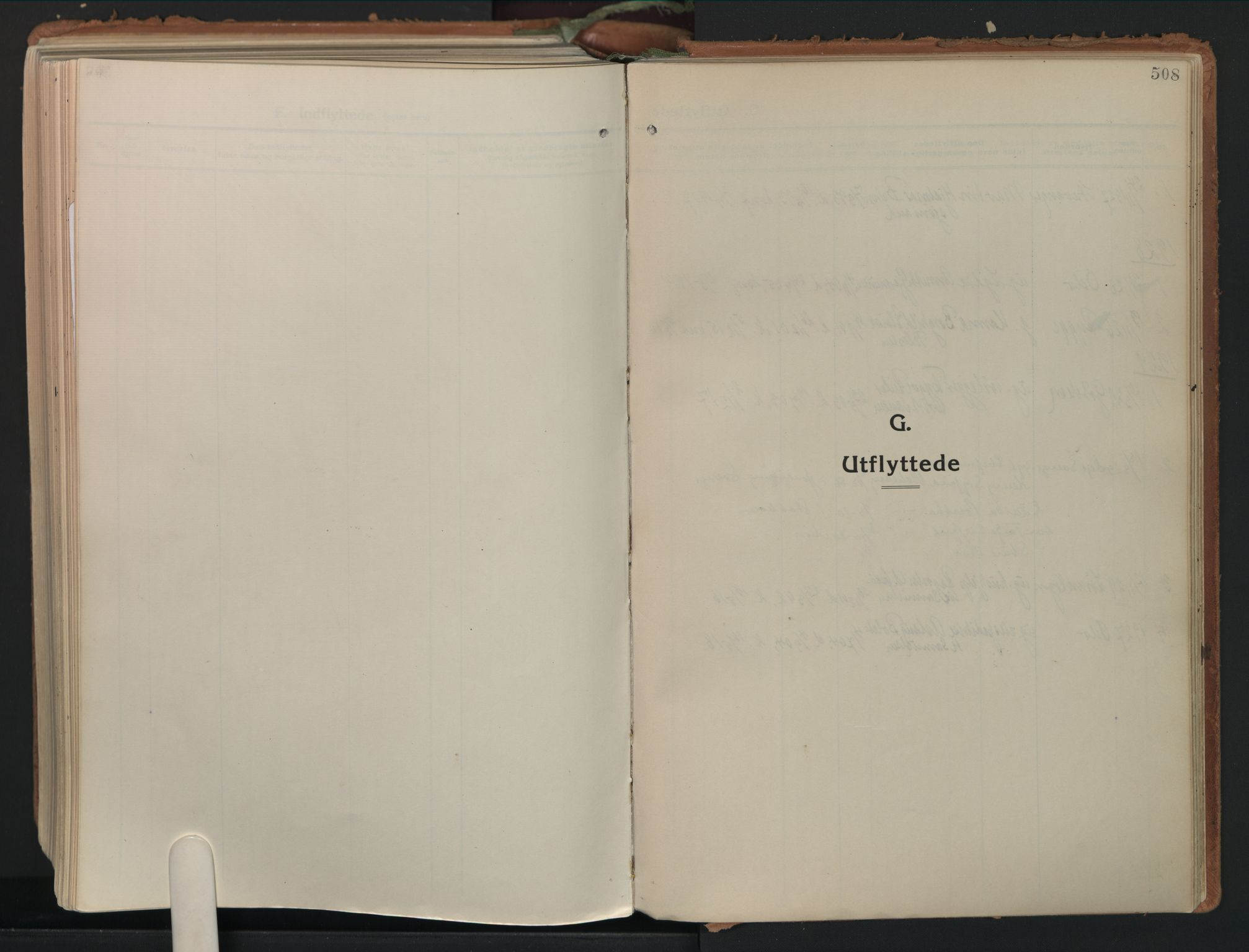 SAO, Moss prestekontor Kirkebøker, F/Fb/Fab/L0006: Ministerialbok nr. II 6, 1924-1932, s. 508