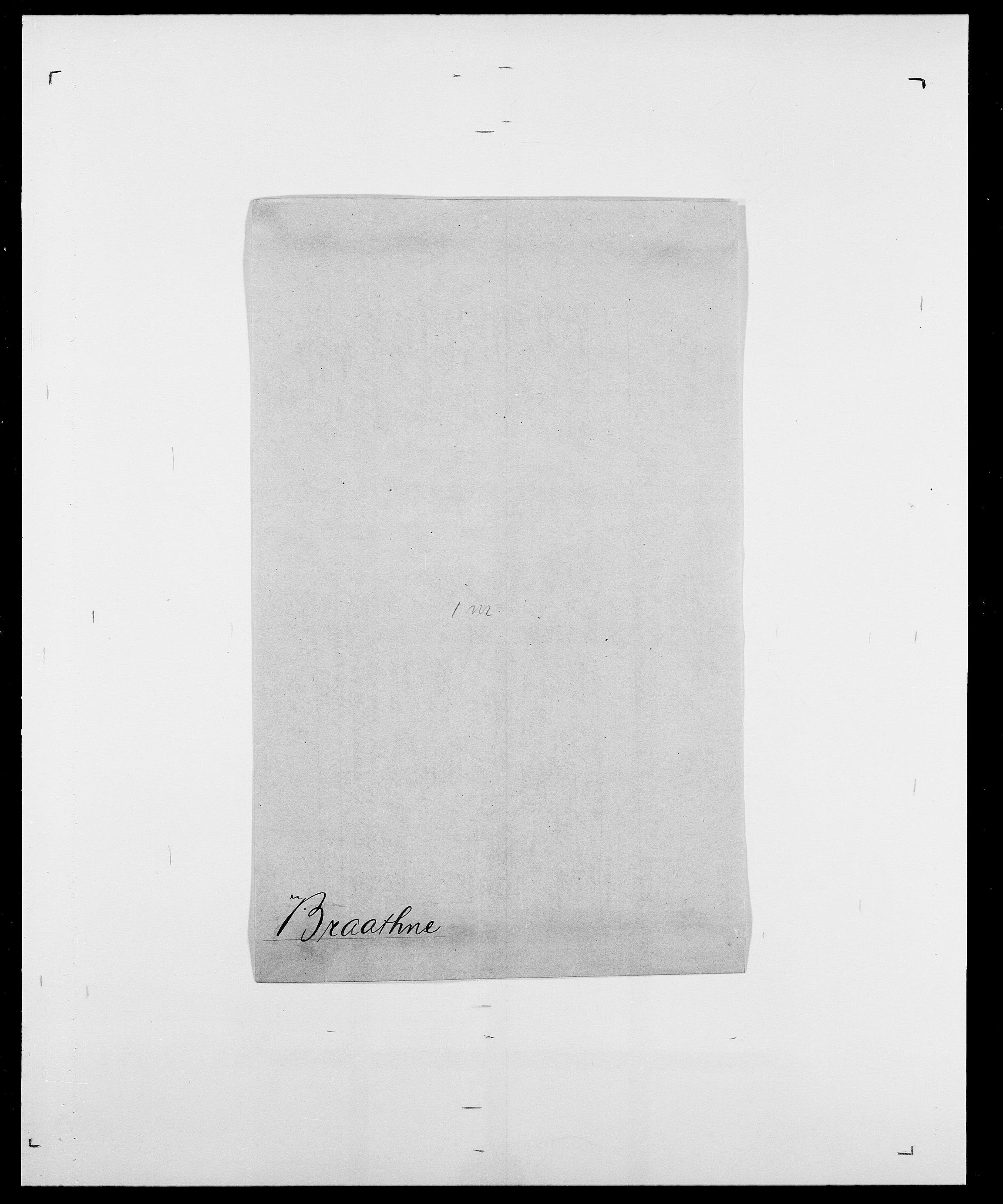 SAO, Delgobe, Charles Antoine - samling, D/Da/L0005: Boalth - Brahm, s. 429