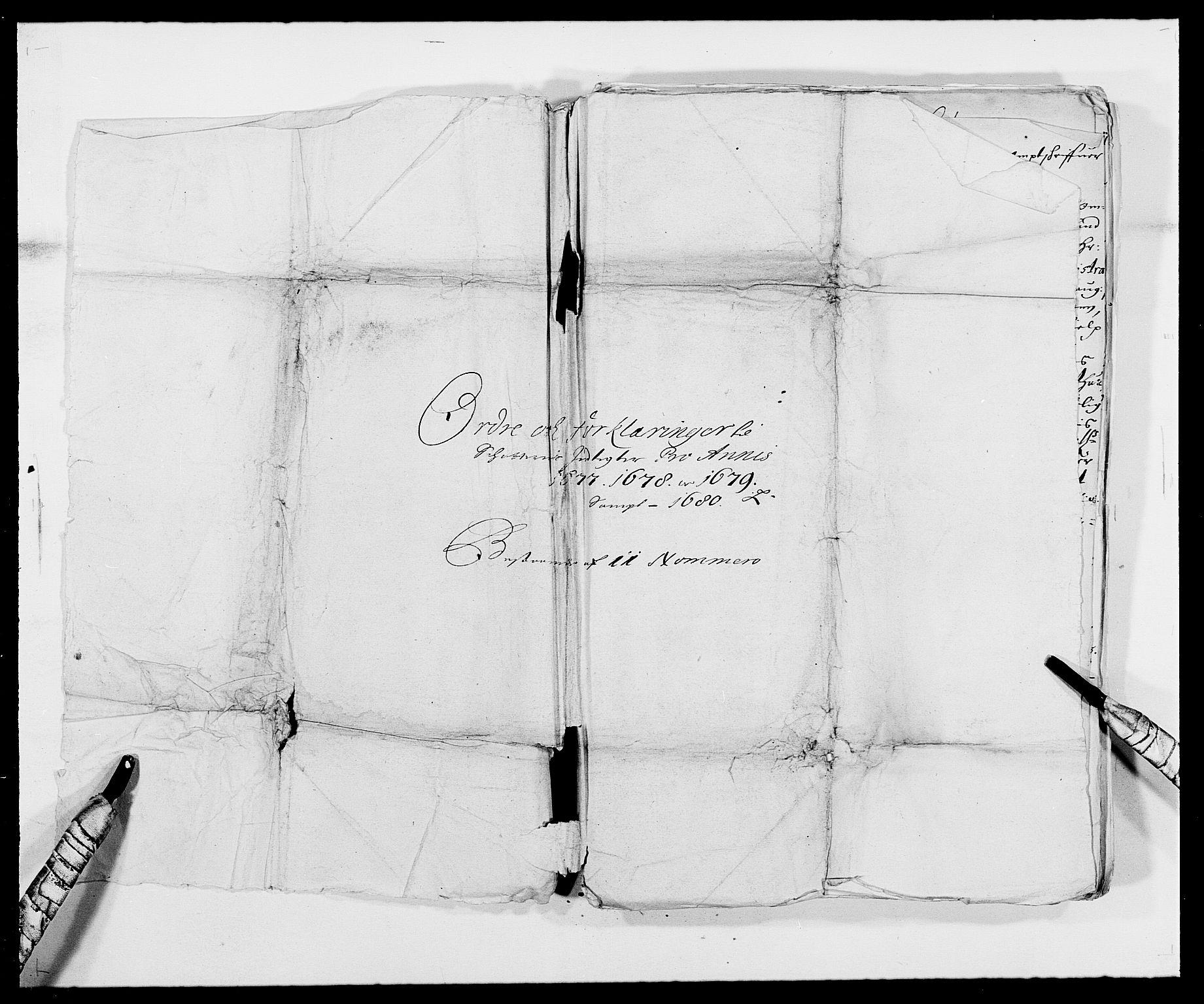 RA, Rentekammeret inntil 1814, Reviderte regnskaper, Fogderegnskap, R42/L2540: Mandal fogderi, 1676-1680, s. 360
