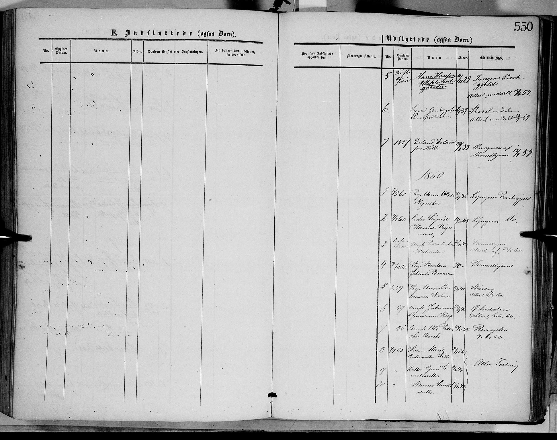 SAH, Dovre prestekontor, Ministerialbok nr. 1, 1854-1878, s. 550