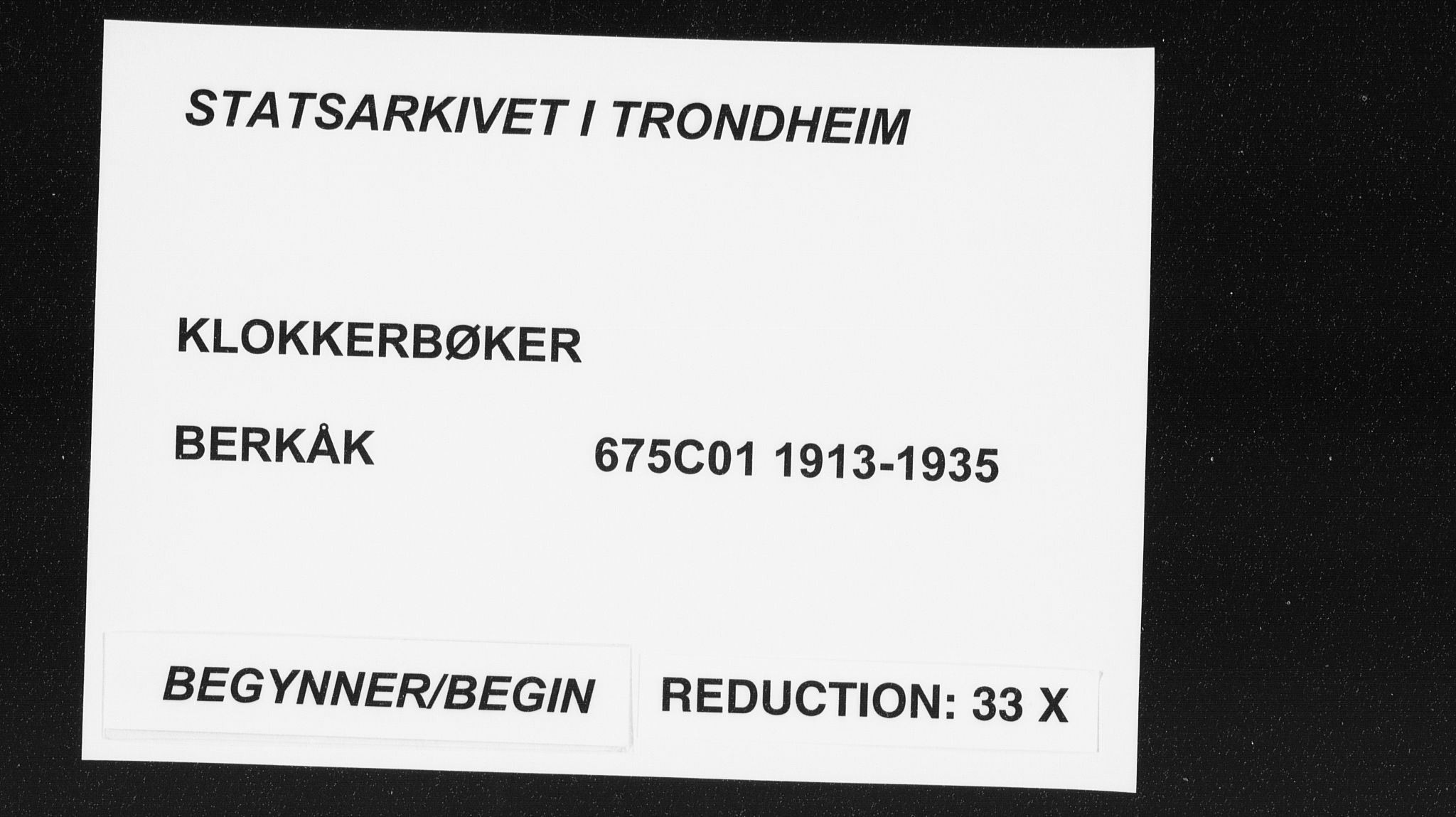 SAT, Ministerialprotokoller, klokkerbøker og fødselsregistre - Sør-Trøndelag, 675/L0888: Klokkerbok nr. 675C01, 1913-1935