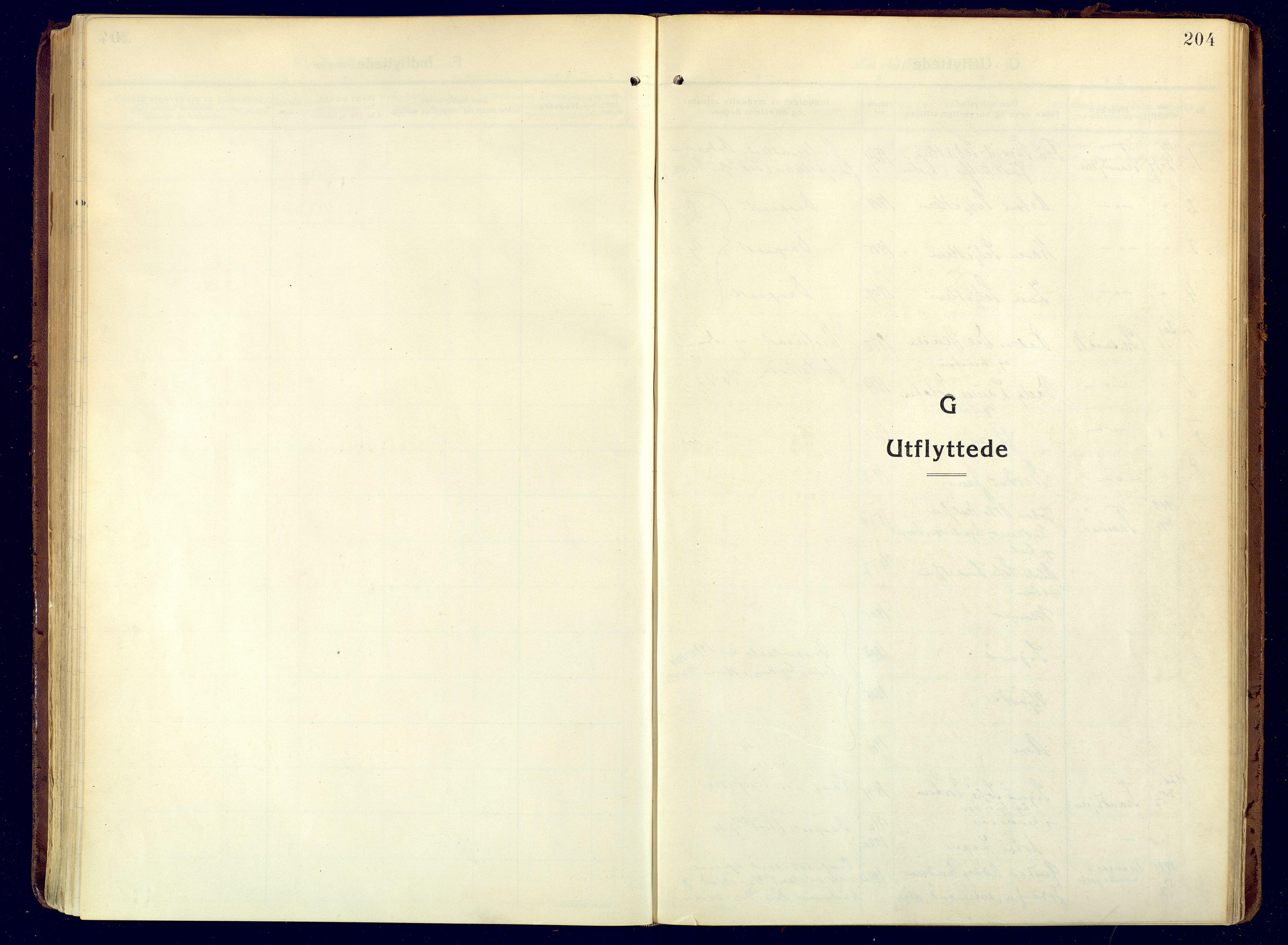 SATØ, Hammerfest sokneprestembete, Ministerialbok nr. 15, 1916-1923, s. 204
