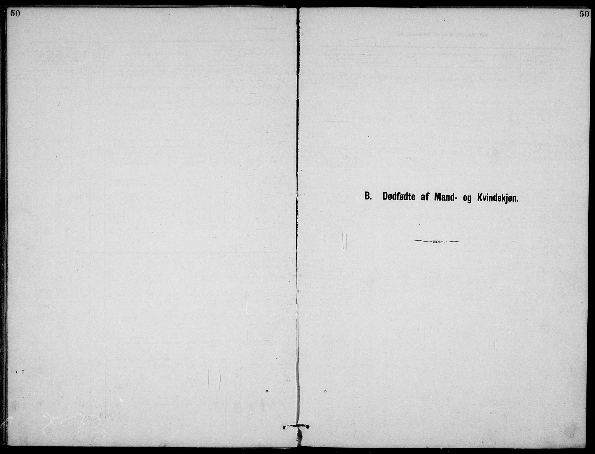 SAKO, Rjukan kirkebøker, G/Ga/L0001: Klokkerbok nr. 1, 1880-1914, s. 50