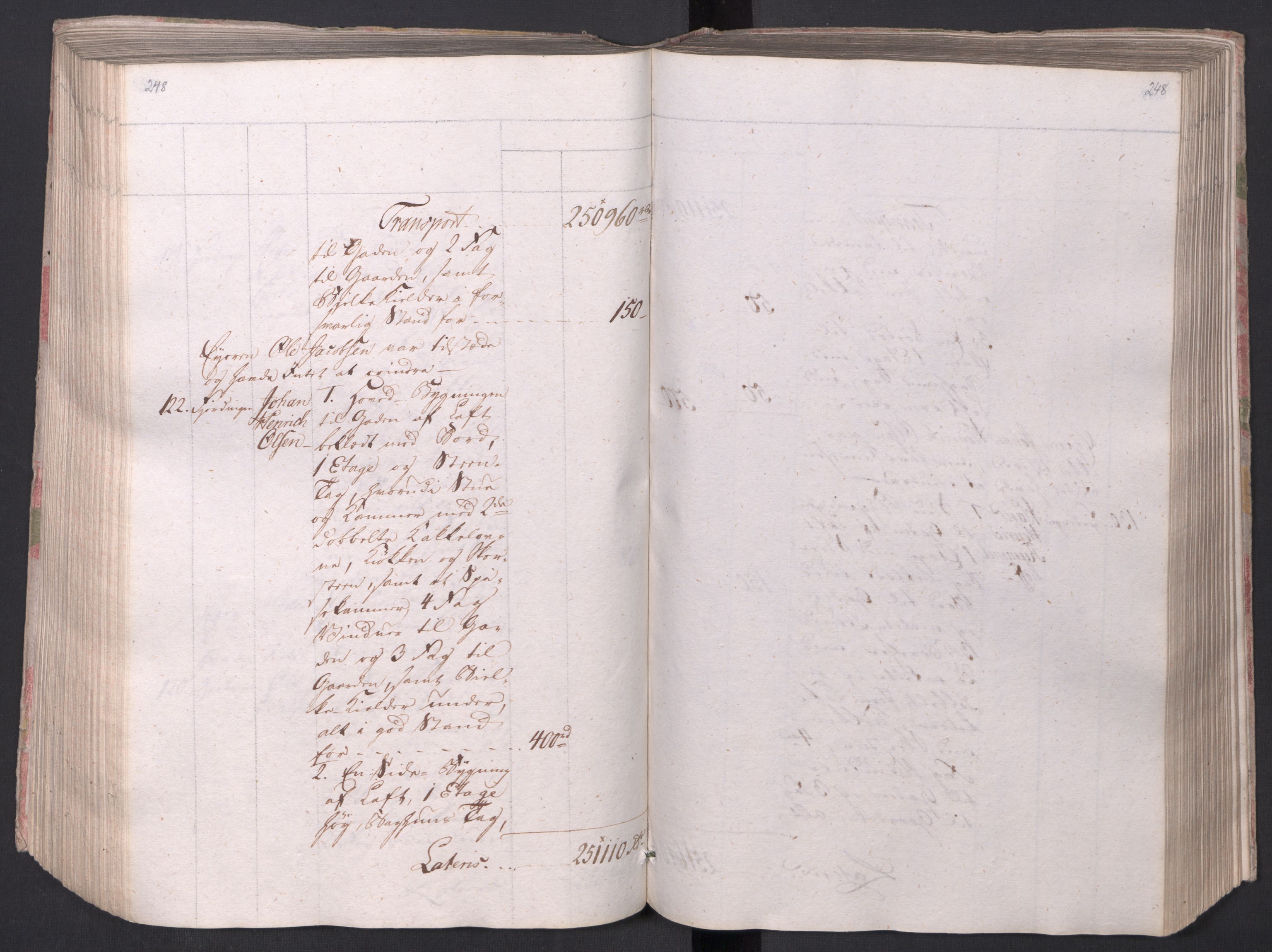 SAO, Kristiania stiftamt, I/Ia/L0015: Branntakster, 1797, s. 248