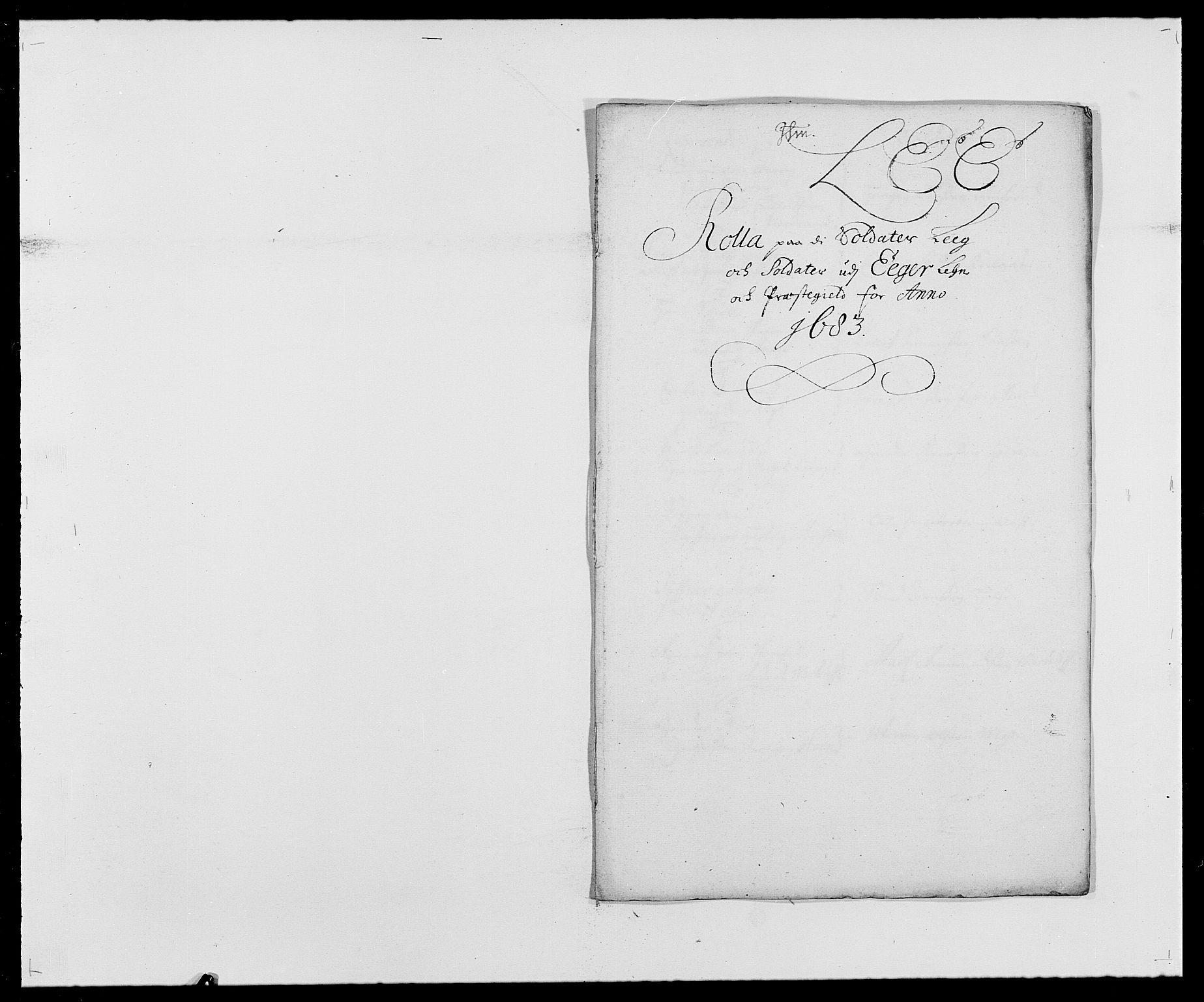 RA, Rentekammeret inntil 1814, Reviderte regnskaper, Fogderegnskap, R26/L1684: Fogderegnskap Eiker, 1679-1686, s. 386