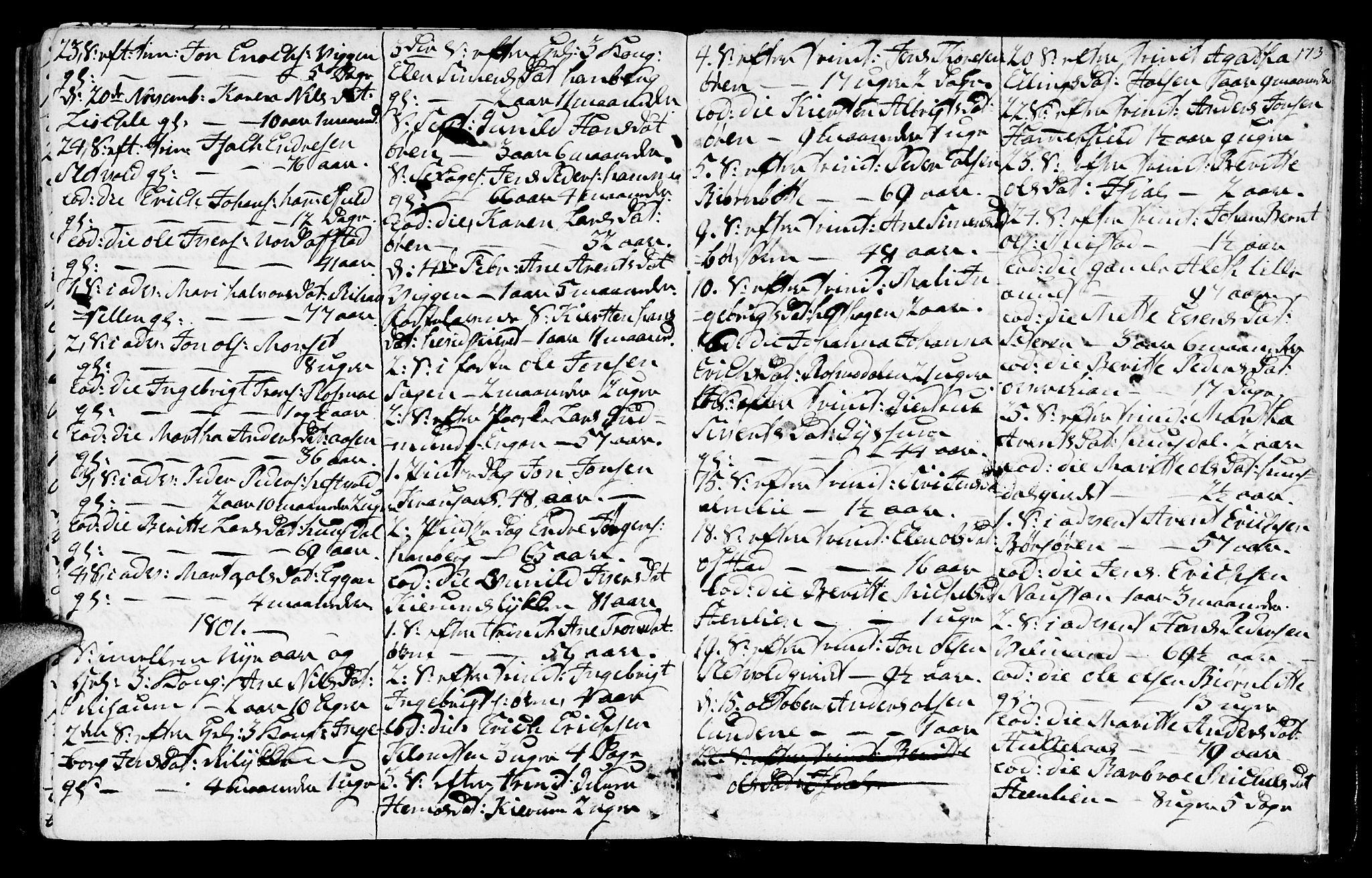 SAT, Ministerialprotokoller, klokkerbøker og fødselsregistre - Sør-Trøndelag, 665/L0768: Ministerialbok nr. 665A03, 1754-1803, s. 173