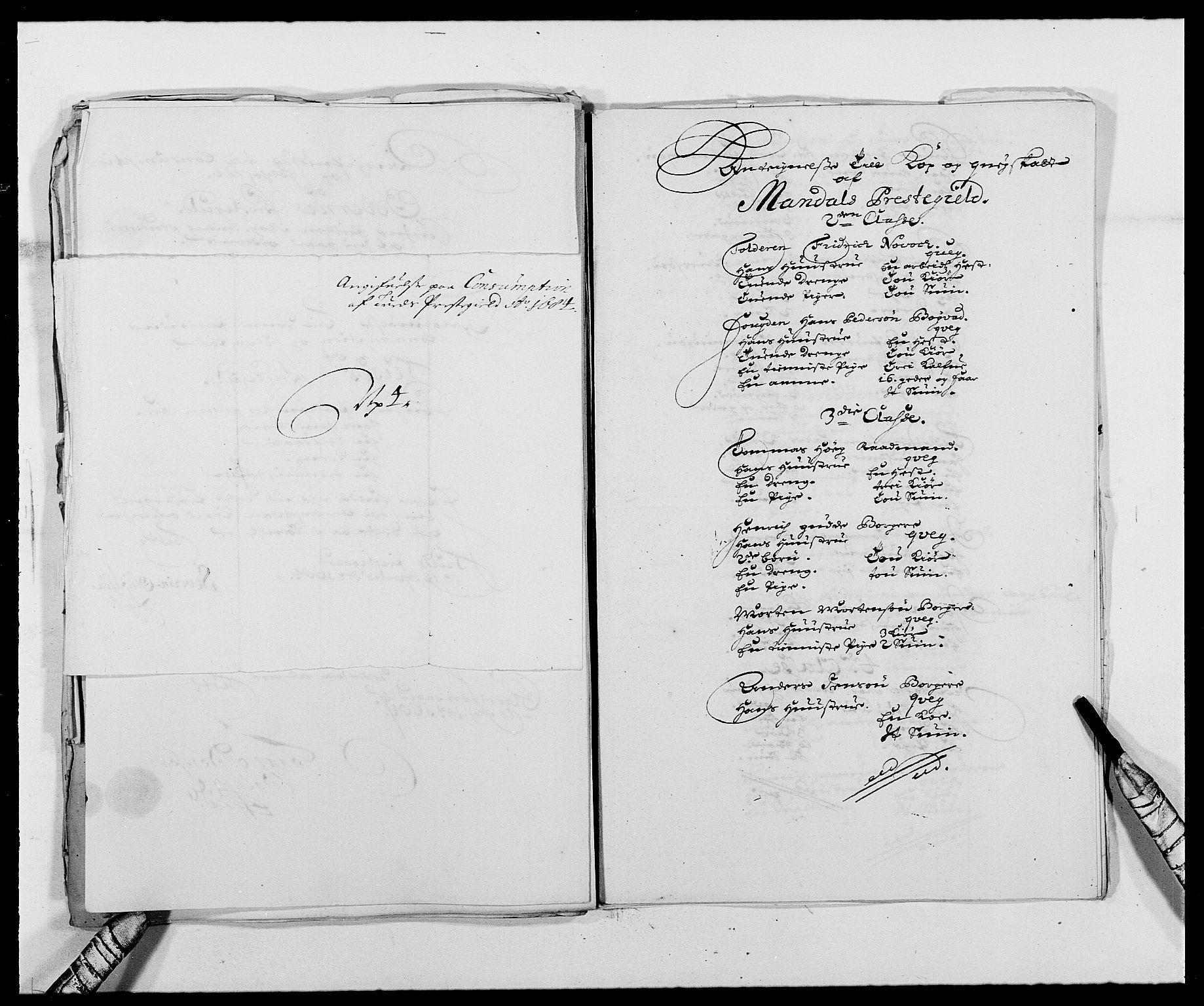 RA, Rentekammeret inntil 1814, Reviderte regnskaper, Fogderegnskap, R42/L2541: Mandal fogderi, 1681-1684, s. 294