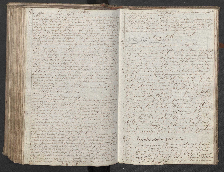 SAST, Pa 0003 - Ploug & Sundt, handelshuset, B/L0009: Kopibok, 1805-1816, s. 299b-300a