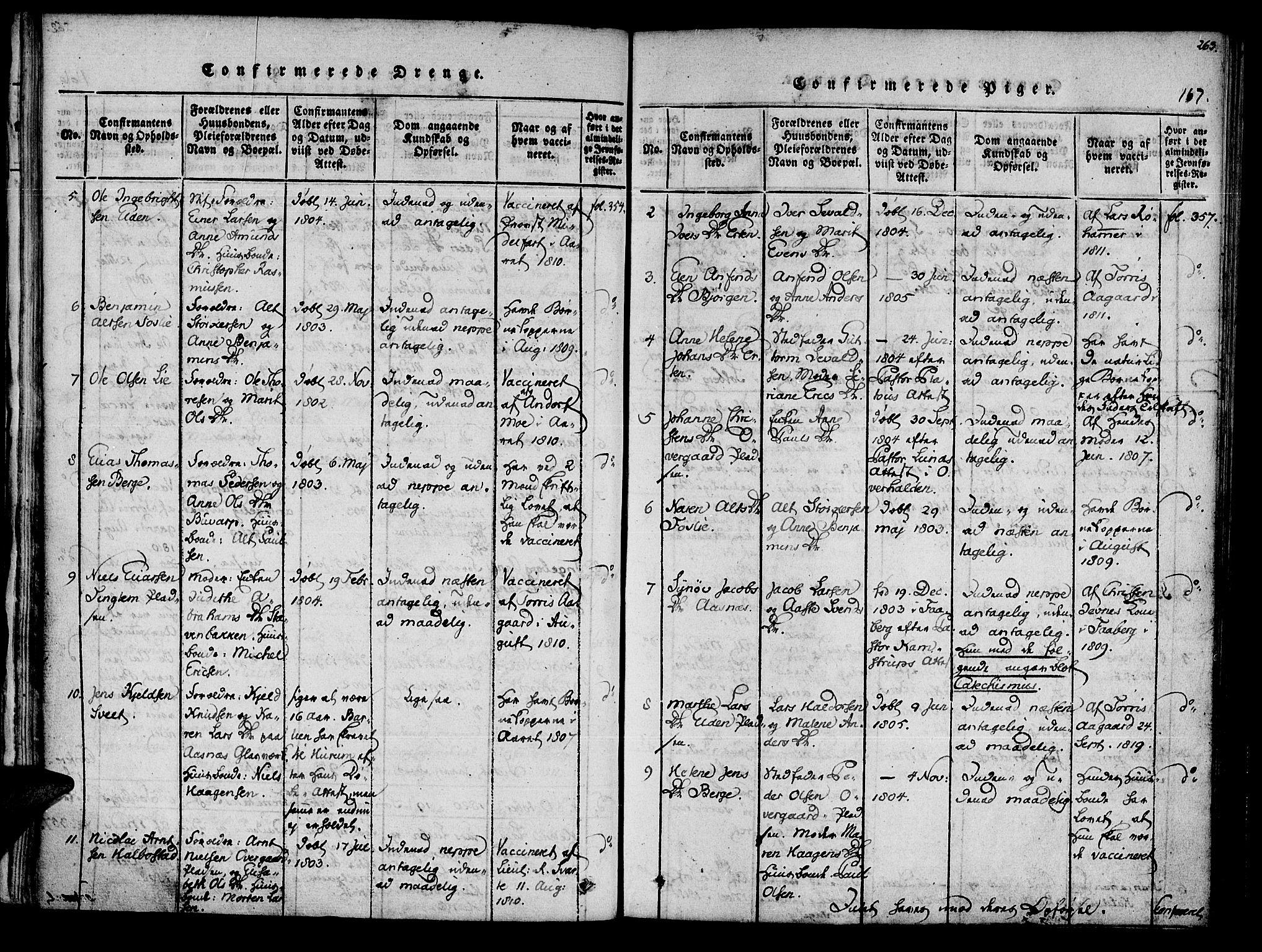 SAT, Ministerialprotokoller, klokkerbøker og fødselsregistre - Nord-Trøndelag, 741/L0387: Ministerialbok nr. 741A03 /3, 1817-1822, s. 167