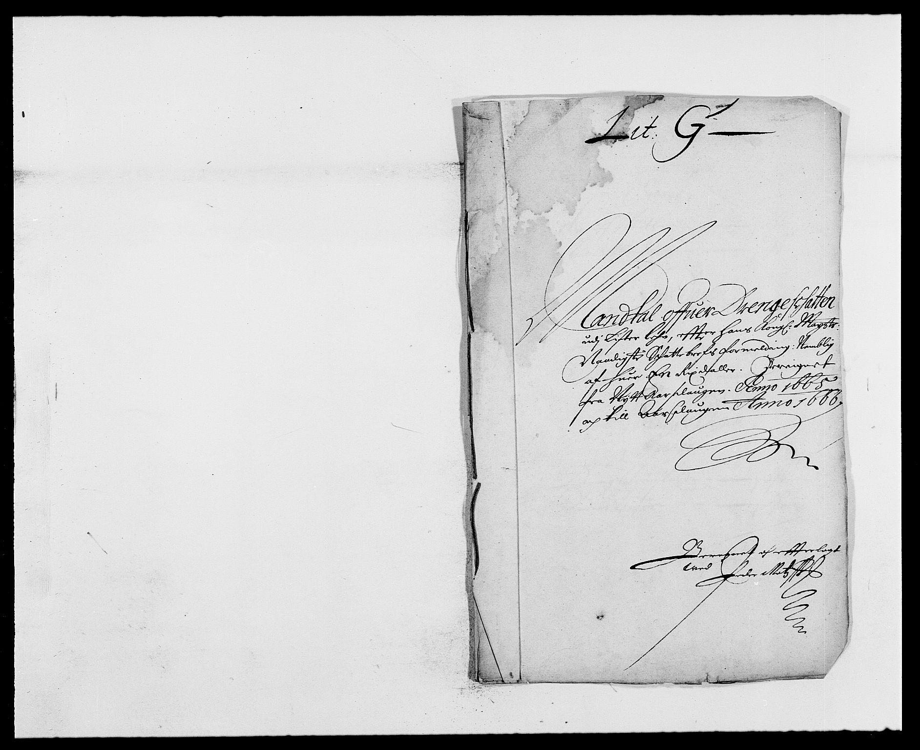 RA, Rentekammeret inntil 1814, Reviderte regnskaper, Fogderegnskap, R41/L2524: Fogderegnskap Lista, 1665-1668, s. 147