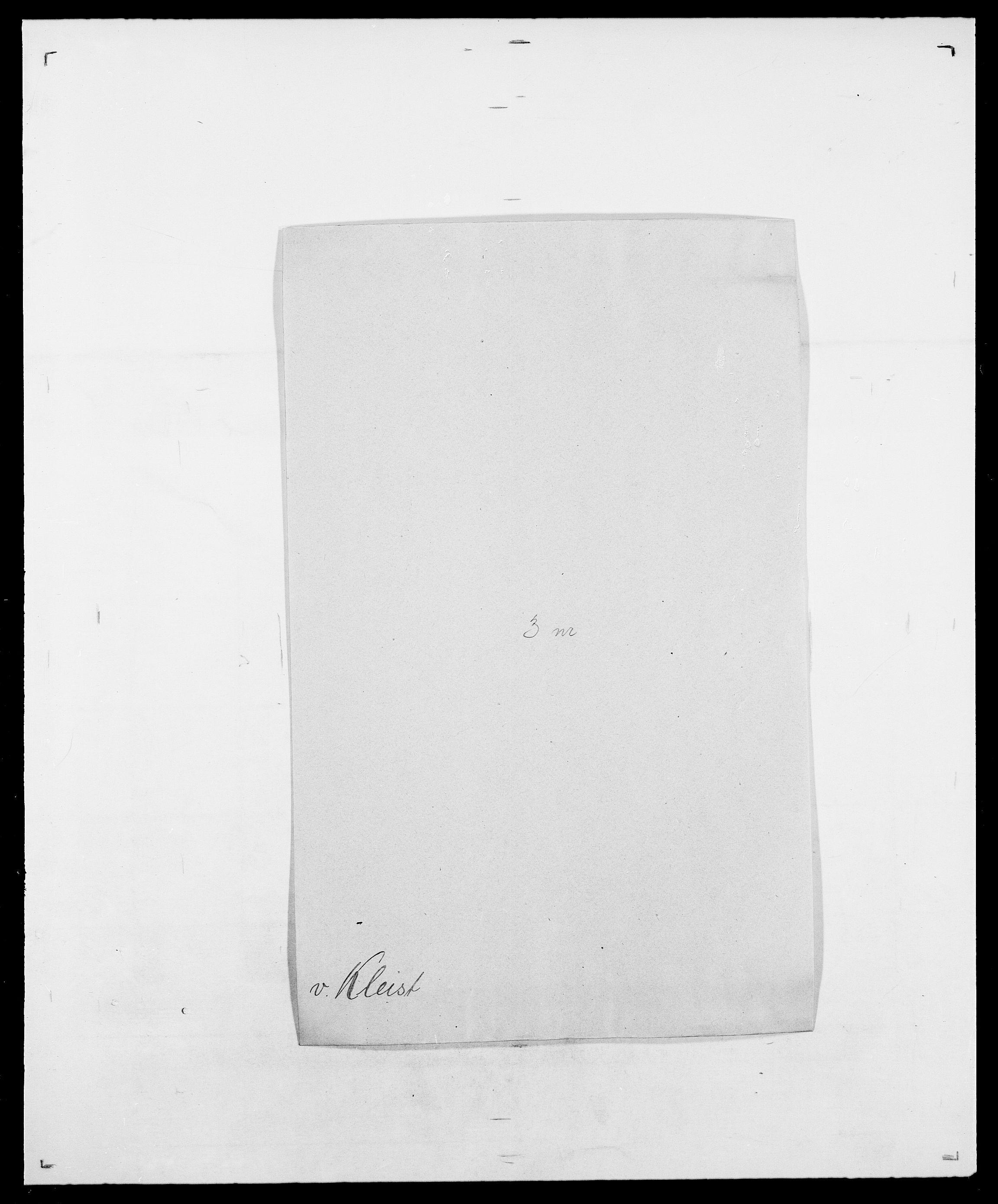 SAO, Delgobe, Charles Antoine - samling, D/Da/L0021: Klagenberg - Kristoft, s. 30