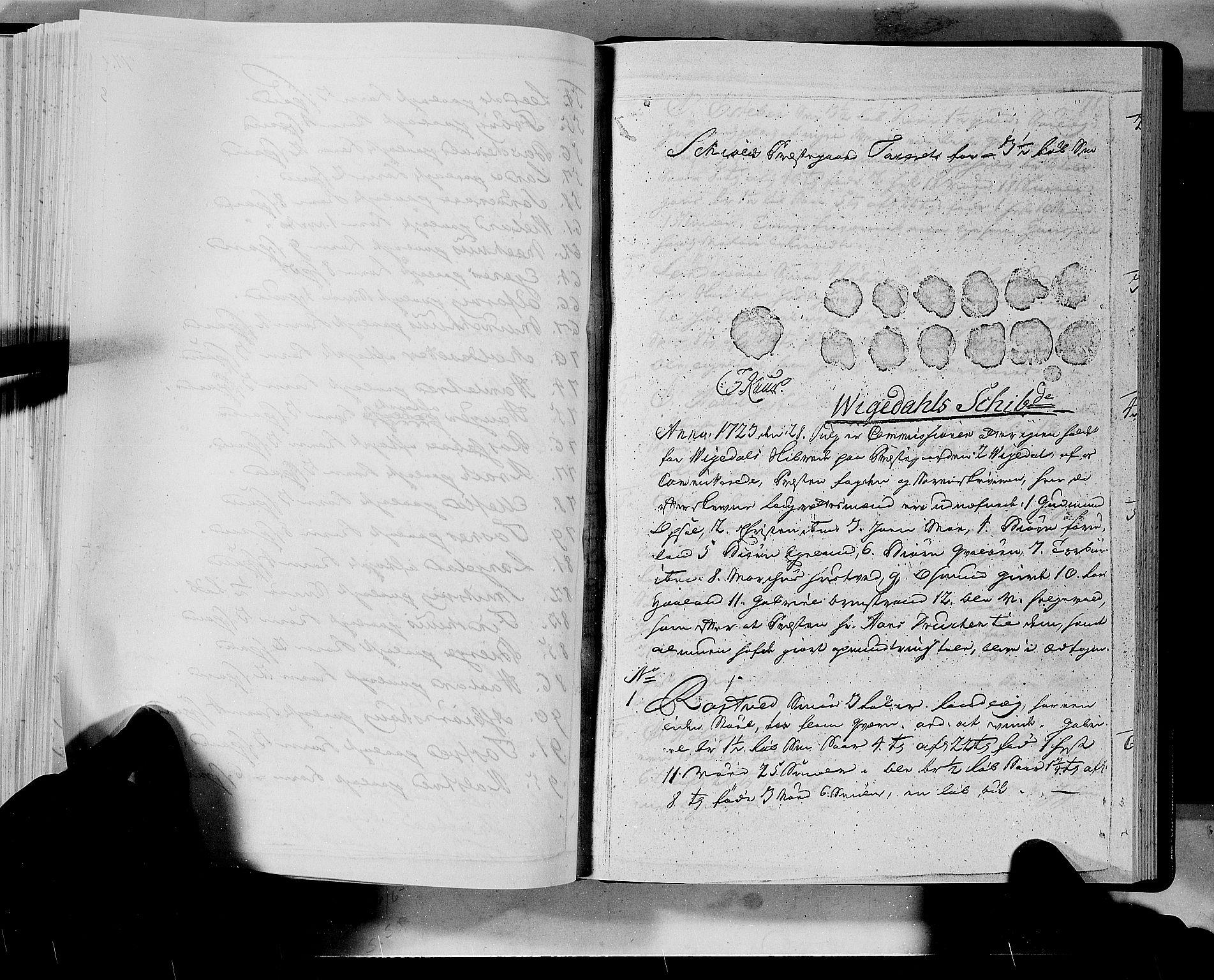 RA, Rentekammeret inntil 1814, Realistisk ordnet avdeling, N/Nb/Nbf/L0133a: Ryfylke eksaminasjonsprotokoll, 1723, s. 77b