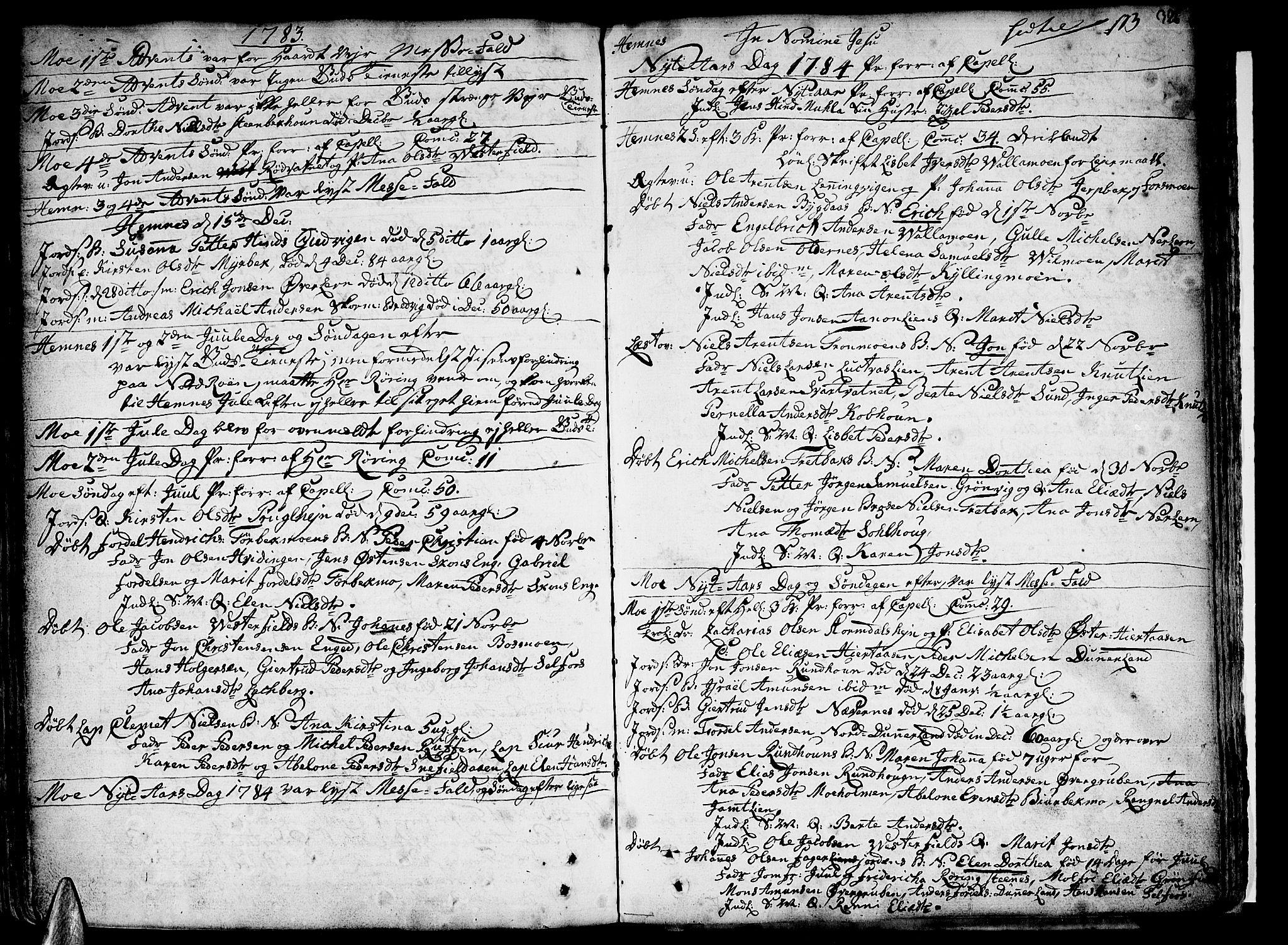 SAT, Ministerialprotokoller, klokkerbøker og fødselsregistre - Nordland, 825/L0348: Ministerialbok nr. 825A04, 1752-1788, s. 326
