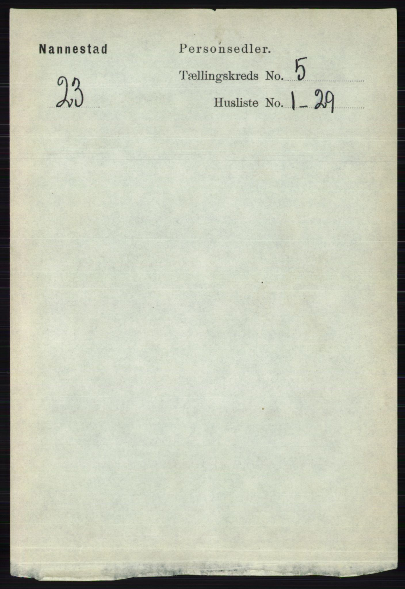 RA, Folketelling 1891 for 0238 Nannestad herred, 1891, s. 2600