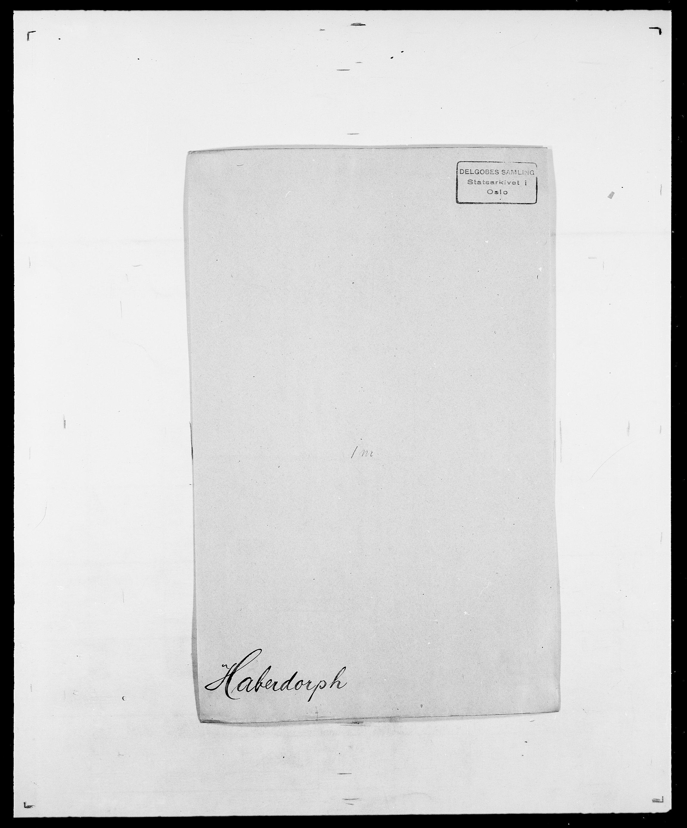 SAO, Delgobe, Charles Antoine - samling, D/Da/L0015: Grodtshilling - Halvorsæth, s. 627