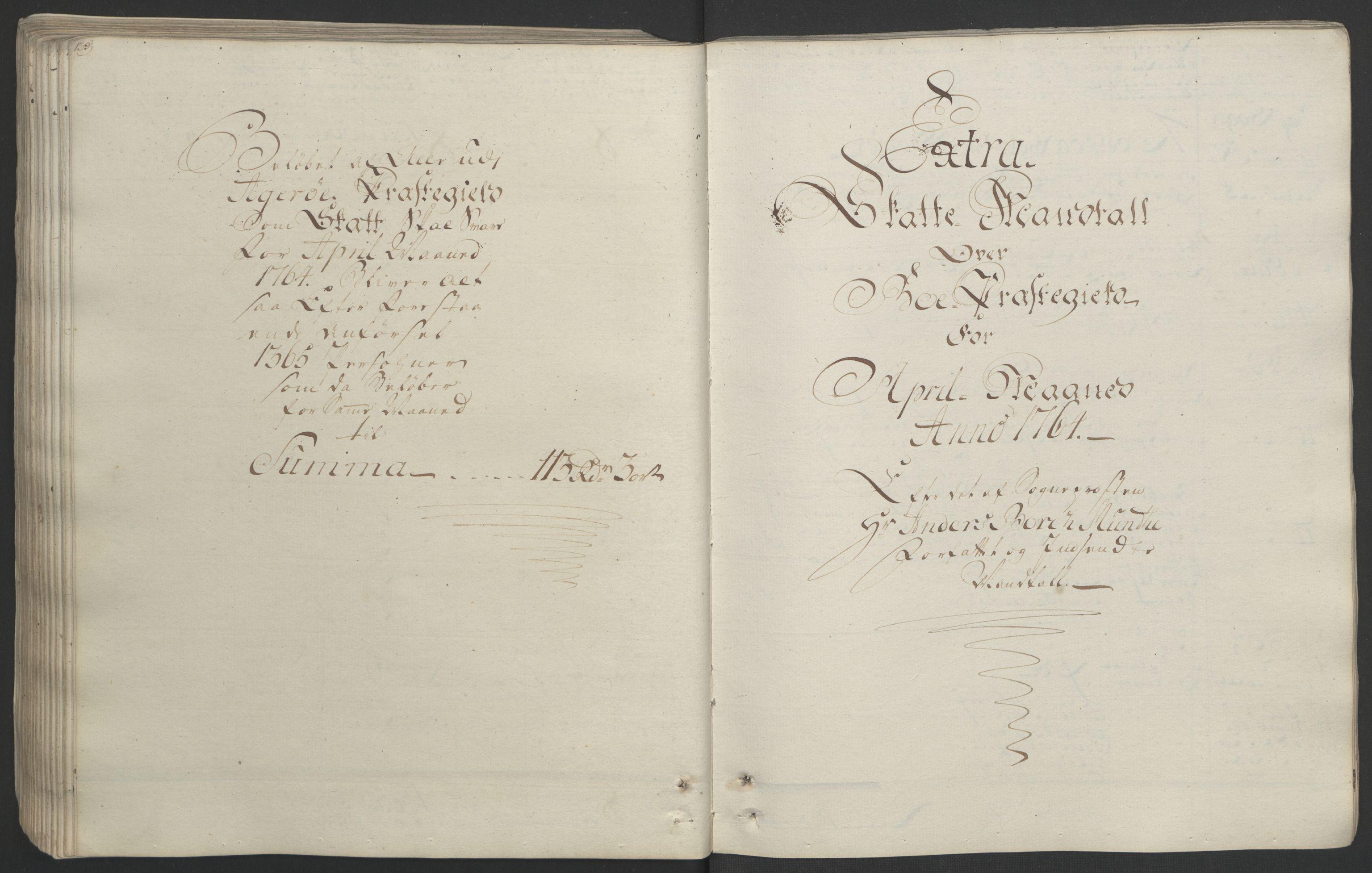 RA, Rentekammeret inntil 1814, Realistisk ordnet avdeling, Ol/L0020: [Gg 10]: Ekstraskatten, 23.09.1762. Romsdal, Strinda, Selbu, Inderøy., 1764, s. 145