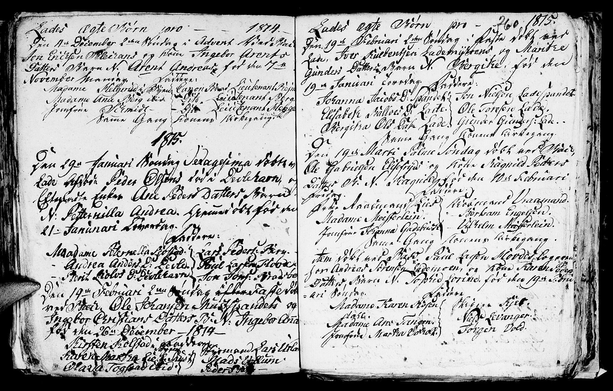 SAT, Ministerialprotokoller, klokkerbøker og fødselsregistre - Sør-Trøndelag, 606/L0305: Klokkerbok nr. 606C01, 1757-1819, s. 260