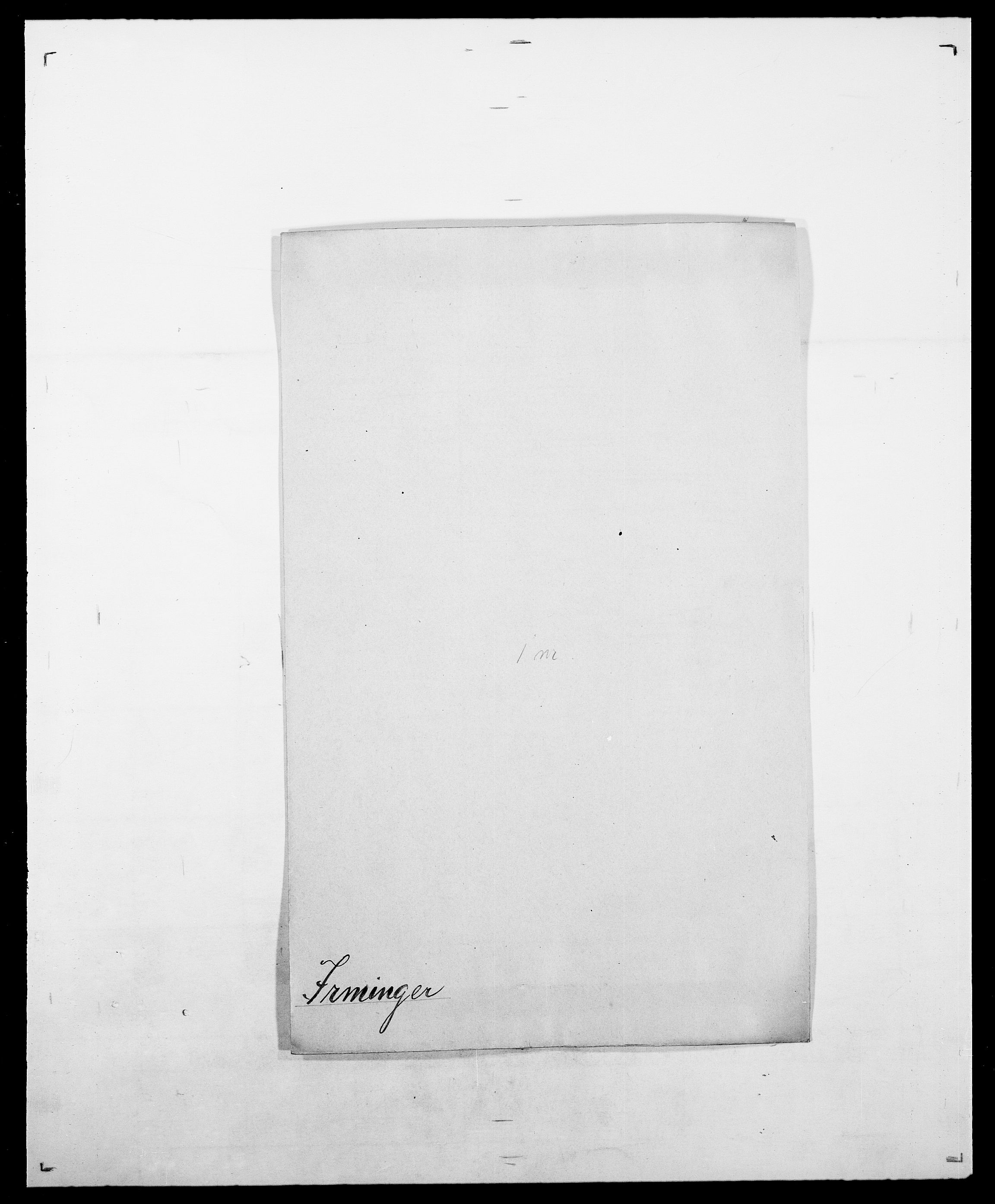 SAO, Delgobe, Charles Antoine - samling, D/Da/L0020: Irgens - Kjøsterud, s. 38