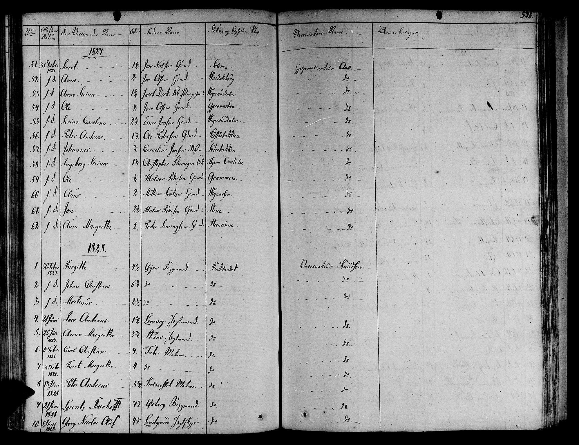 SAT, Ministerialprotokoller, klokkerbøker og fødselsregistre - Sør-Trøndelag, 606/L0286: Ministerialbok nr. 606A04 /1, 1823-1840, s. 572