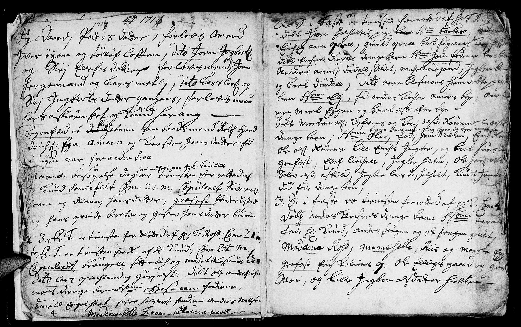 SAT, Ministerialprotokoller, klokkerbøker og fødselsregistre - Sør-Trøndelag, 668/L0812: Klokkerbok nr. 668C01, 1715-1742, s. 9