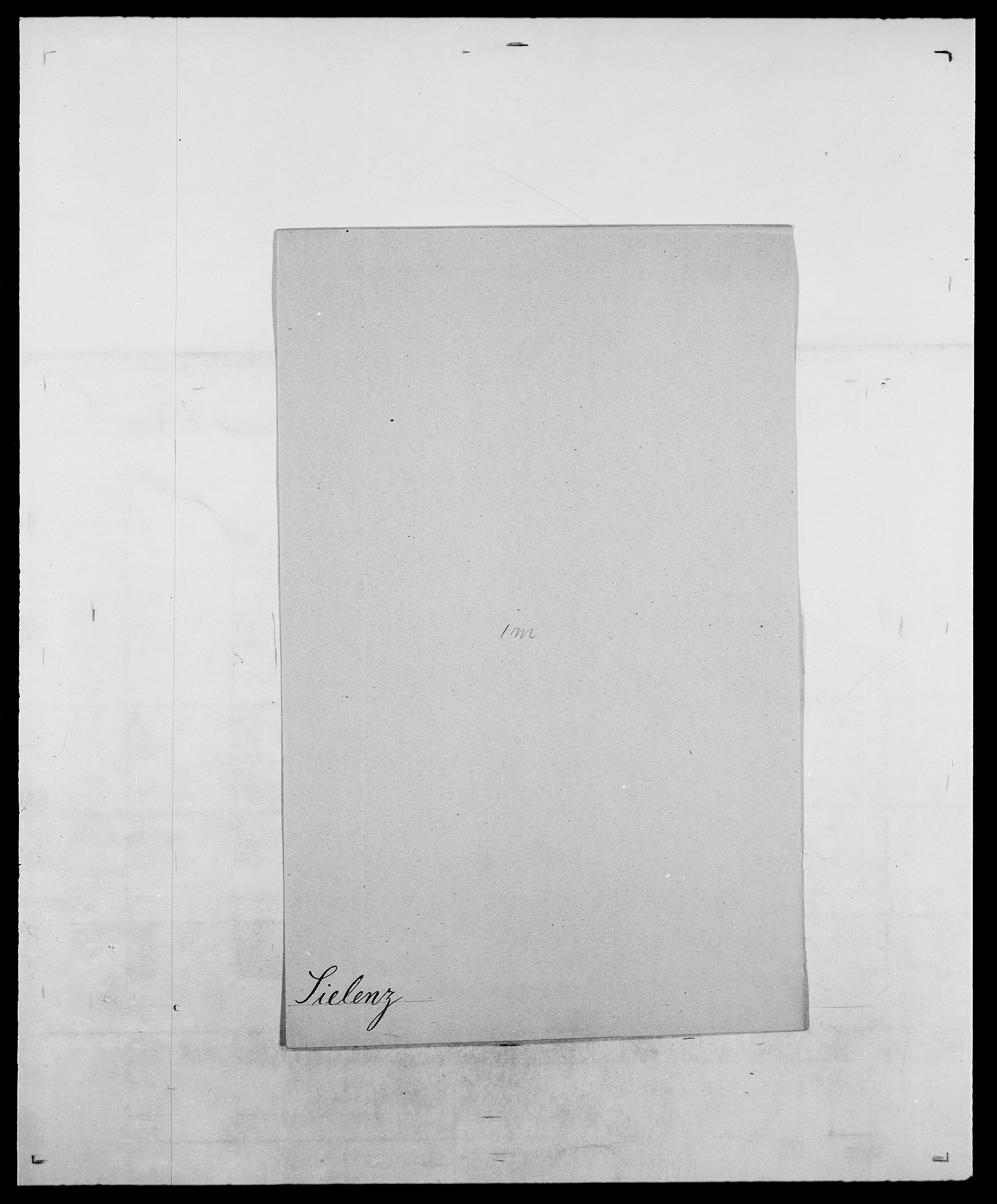 SAO, Delgobe, Charles Antoine - samling, D/Da/L0035: Schnabel - sjetman, s. 767
