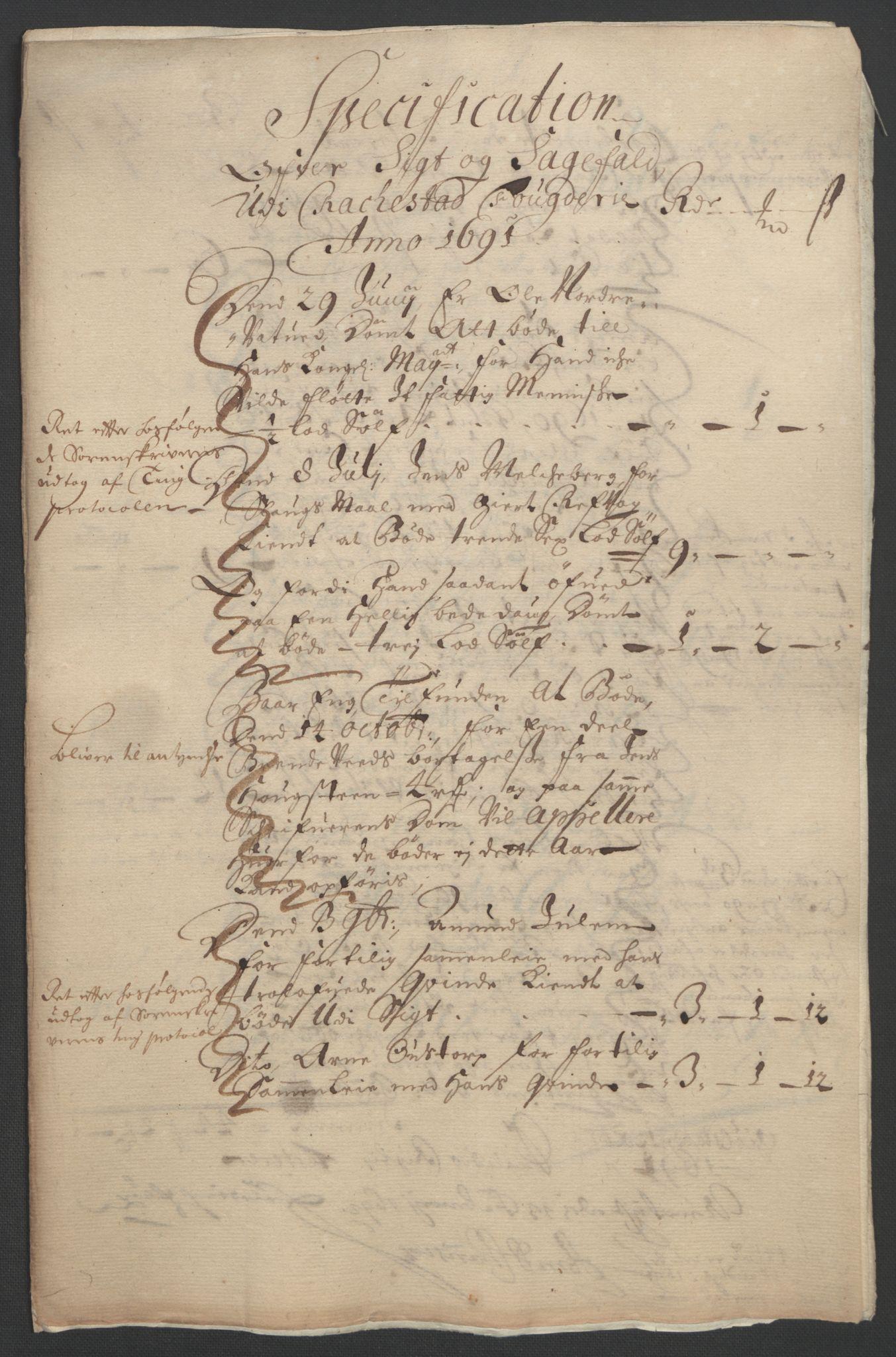 RA, Rentekammeret inntil 1814, Reviderte regnskaper, Fogderegnskap, R05/L0278: Fogderegnskap Rakkestad, 1691-1693, s. 18