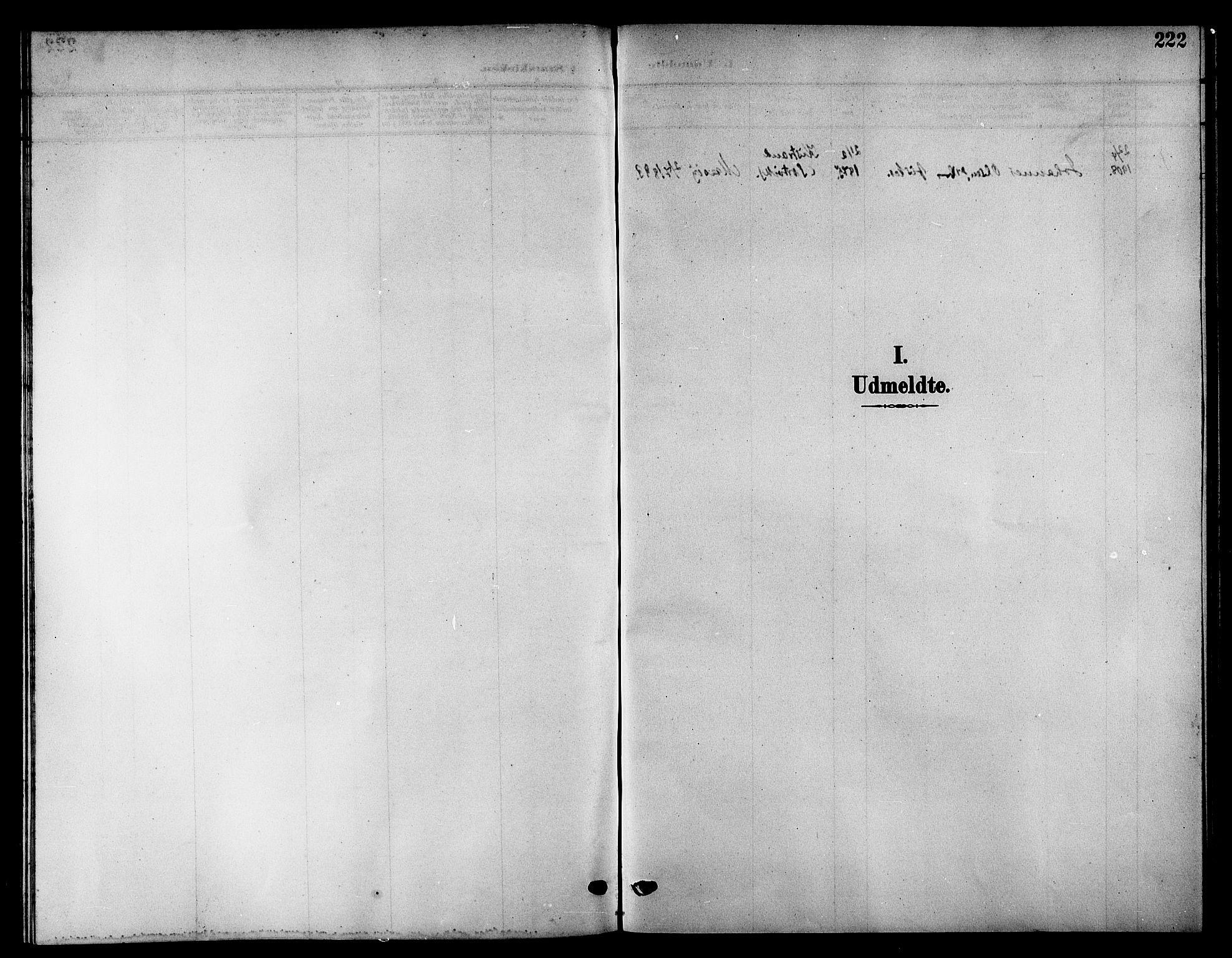 SATØ, Kistrand/Porsanger sokneprestembete, H/Hb/L0006.klokk: Klokkerbok nr. 6, 1905-1917, s. 222