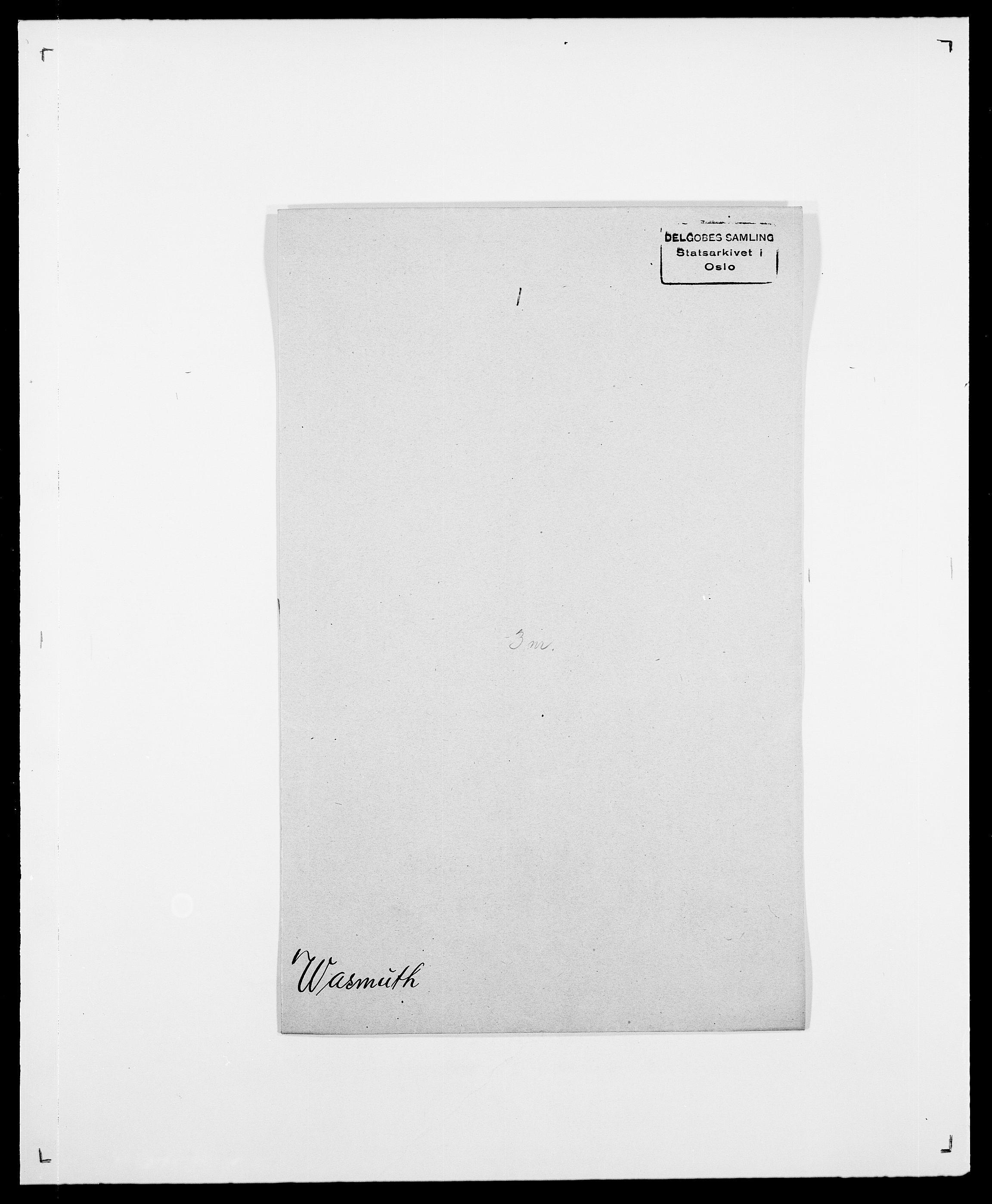 SAO, Delgobe, Charles Antoine - samling, D/Da/L0040: Usgaard - Velund, s. 354