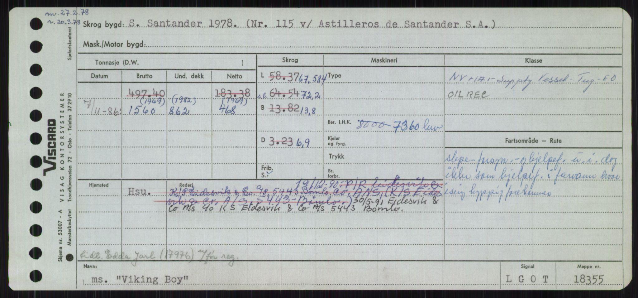 RA, Sjøfartsdirektoratet med forløpere, Skipsmålingen, H/Ha/L0006: Fartøy, Sver-Å, s. 455