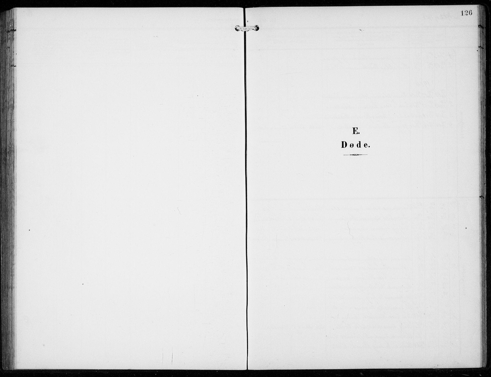 SAB, Ullensvang Sokneprestembete, H/Hab: Klokkerbok nr. F  1, 1902-1935, s. 126