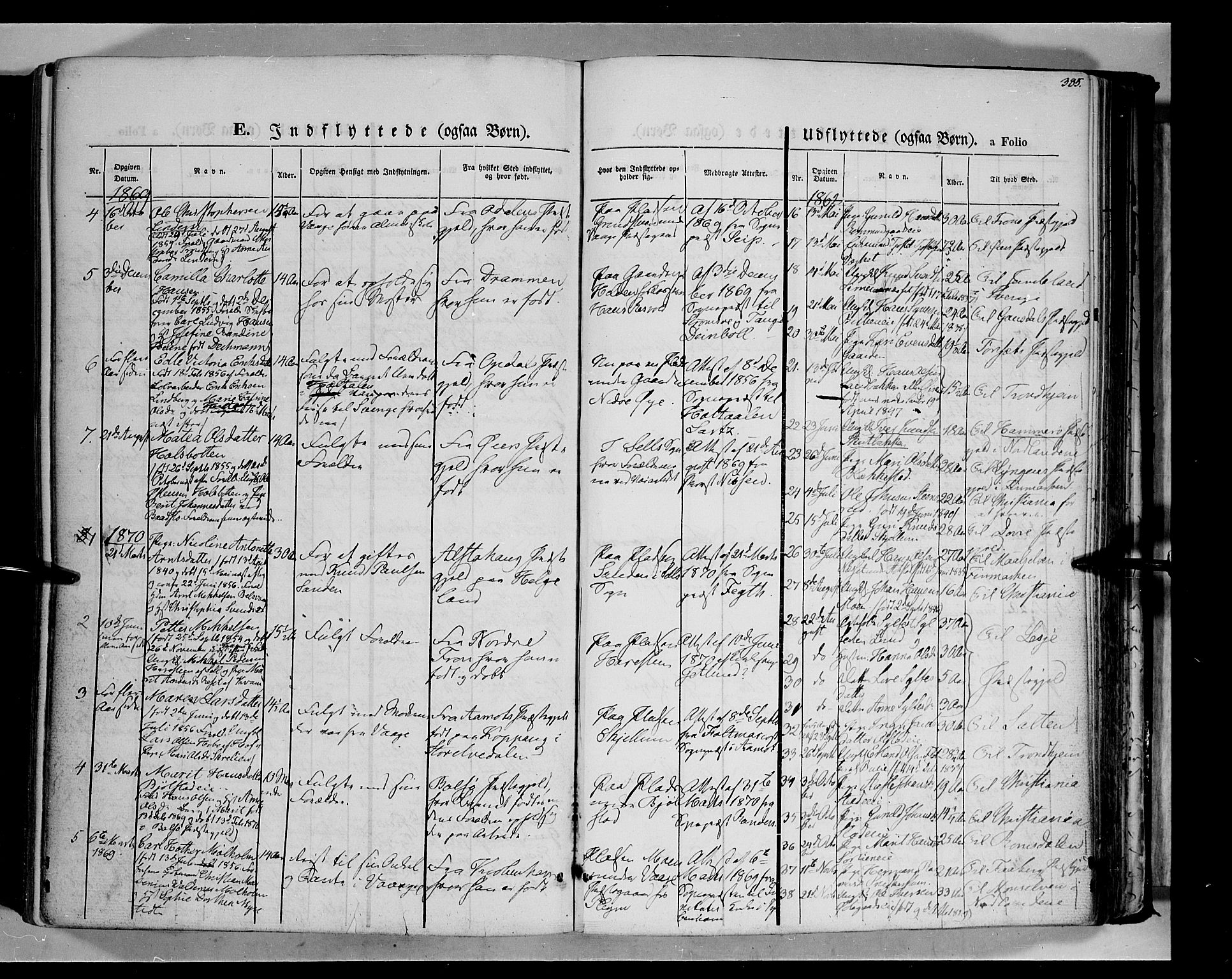 SAH, Vågå prestekontor, Ministerialbok nr. 6 /1, 1856-1872, s. 385