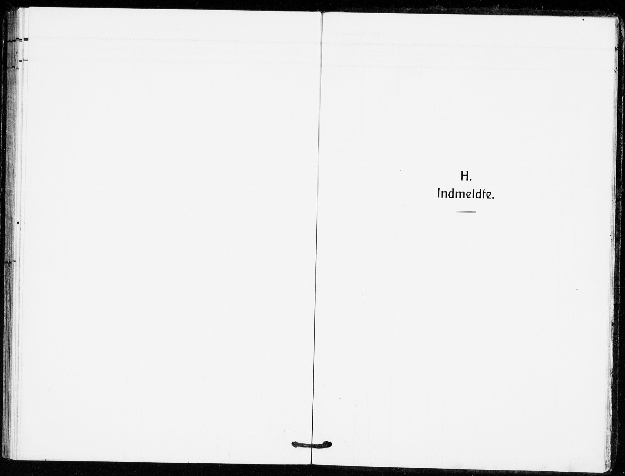 SAKO, Bø kirkebøker, F/Fa/L0013: Ministerialbok nr. 13, 1909-1921