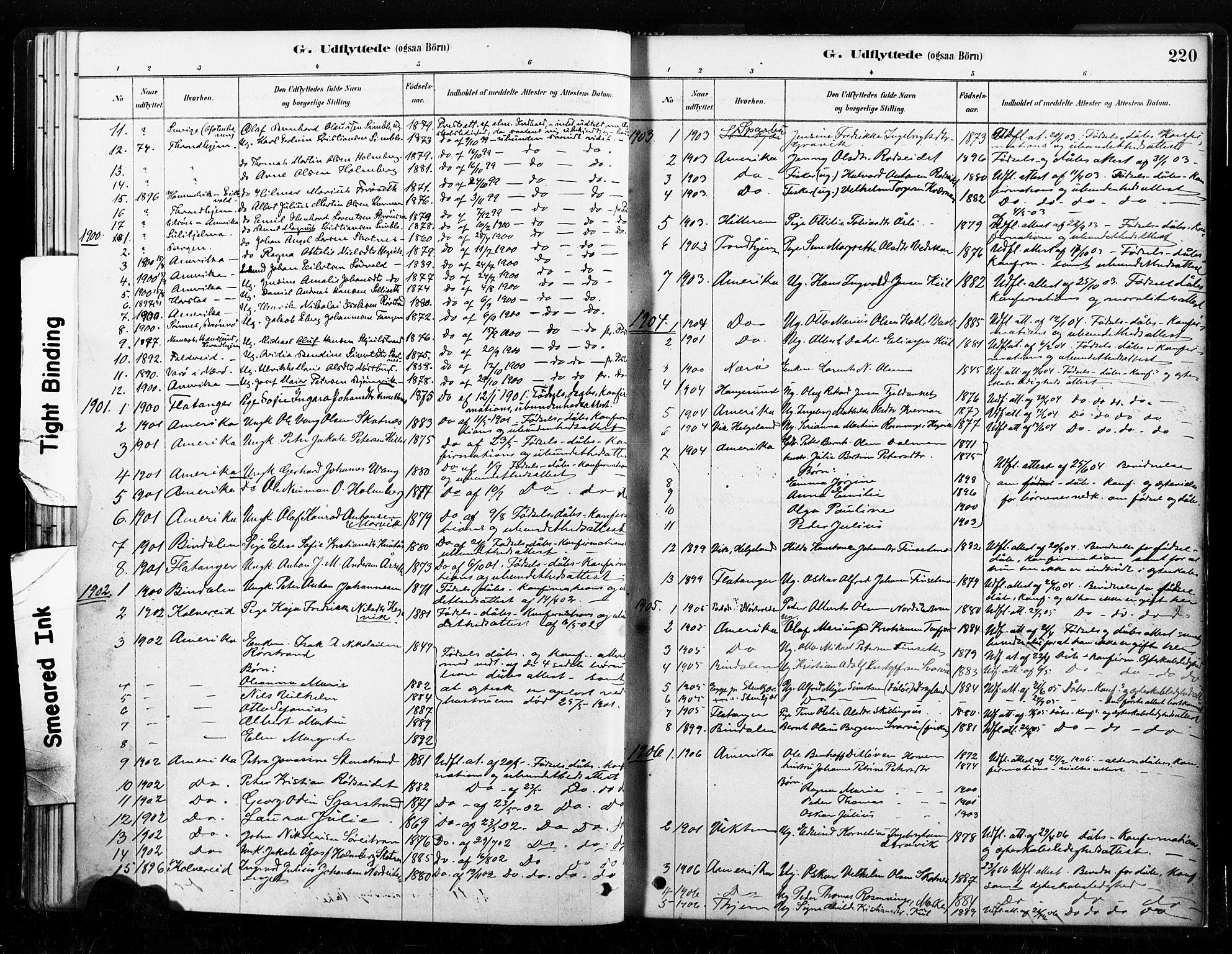 SAT, Ministerialprotokoller, klokkerbøker og fødselsregistre - Nord-Trøndelag, 789/L0705: Ministerialbok nr. 789A01, 1878-1910, s. 220