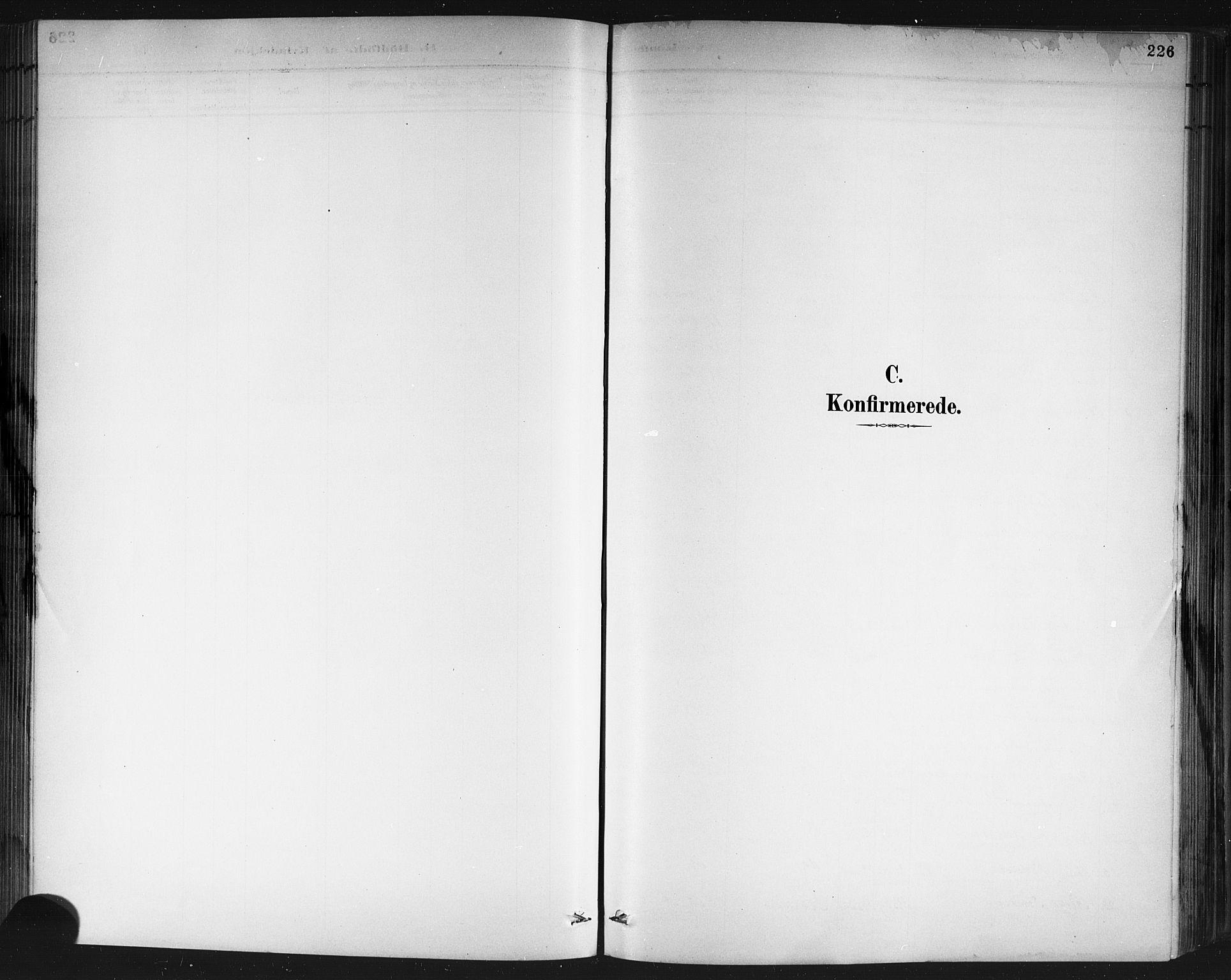 SAKO, Porsgrunn kirkebøker , G/Gb/L0005: Klokkerbok nr. II 5, 1883-1915, s. 226