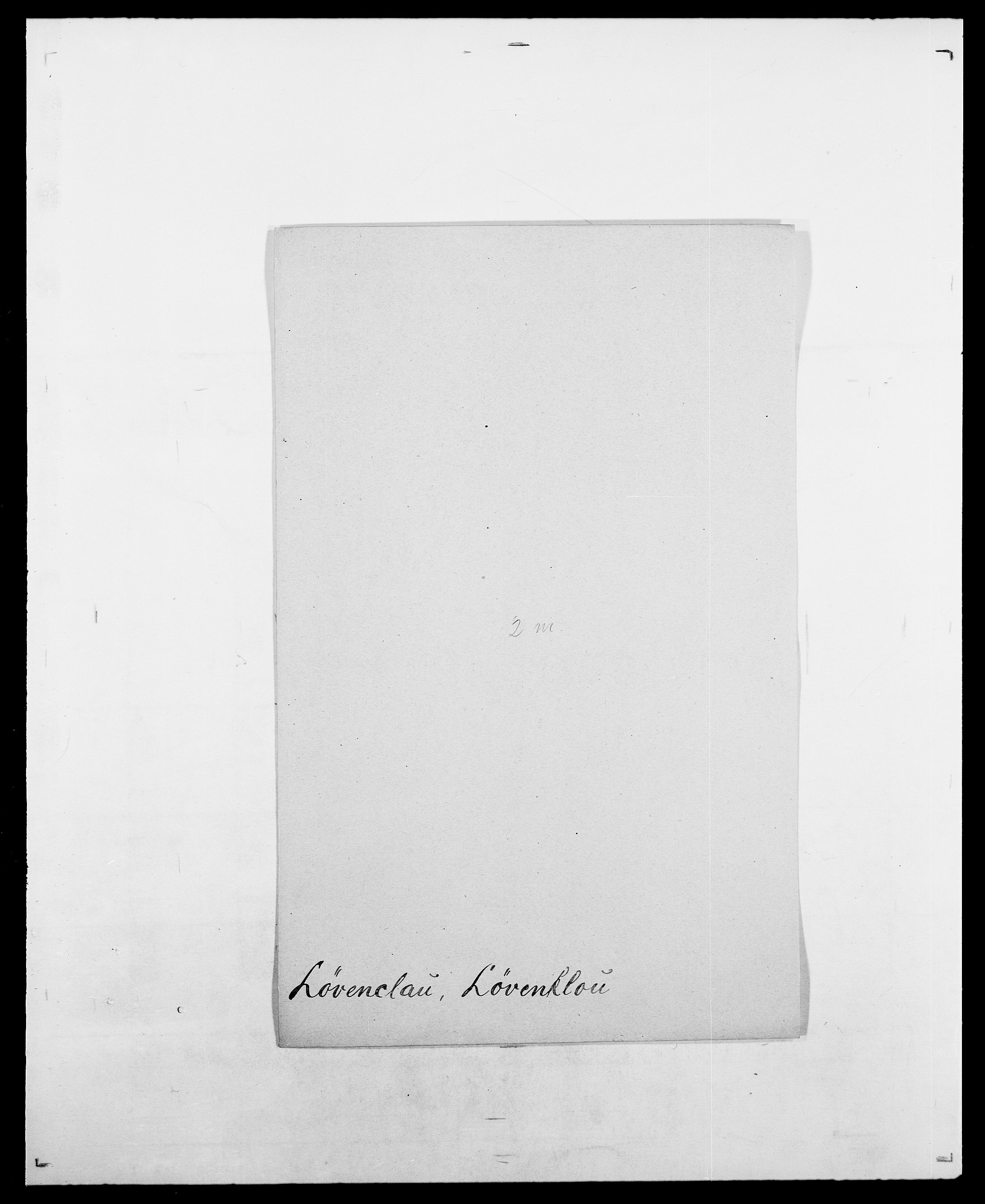SAO, Delgobe, Charles Antoine - samling, D/Da/L0025: Løberg - Mazar, s. 96
