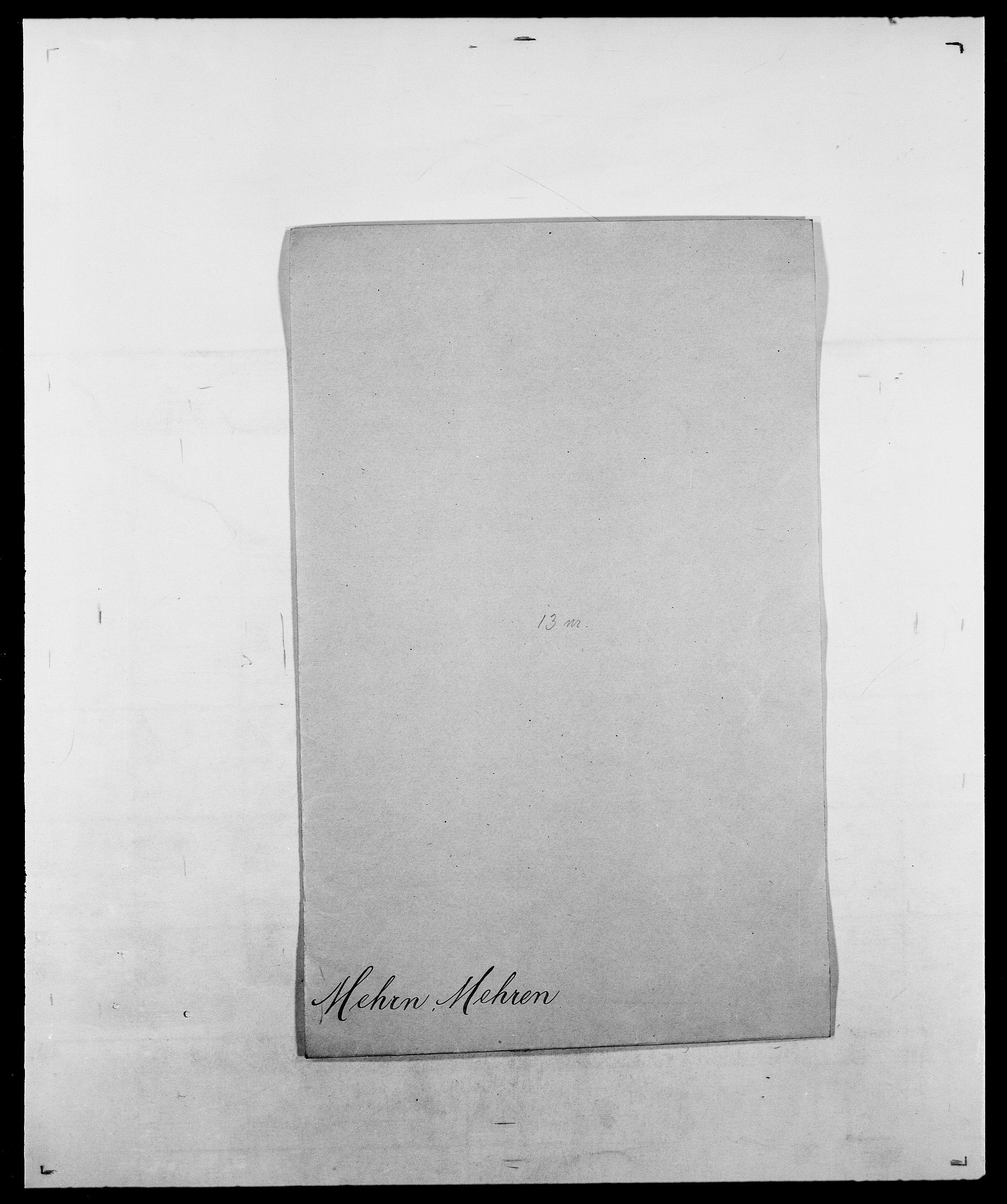 SAO, Delgobe, Charles Antoine - samling, D/Da/L0026: Mechelby - Montoppidan, s. 109
