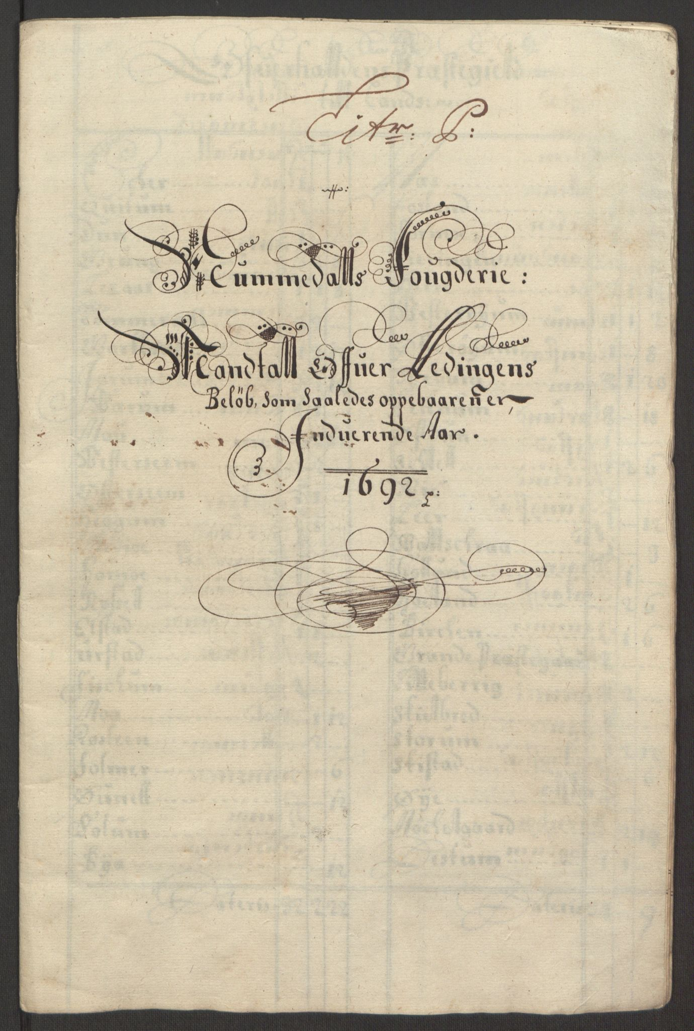 RA, Rentekammeret inntil 1814, Reviderte regnskaper, Fogderegnskap, R64/L4424: Fogderegnskap Namdal, 1692-1695, s. 100