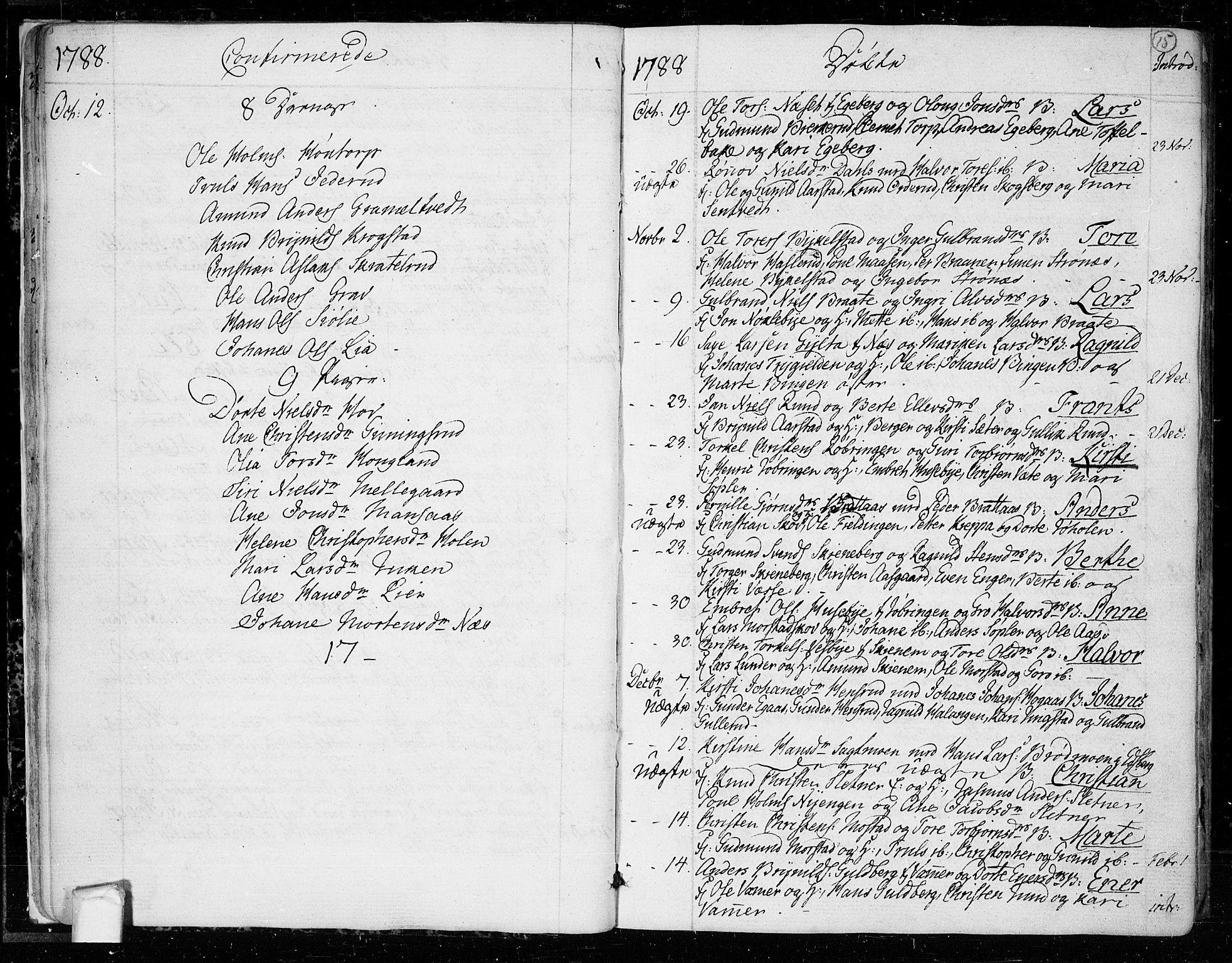 SAO, Trøgstad prestekontor Kirkebøker, F/Fa/L0005: Ministerialbok nr. I 5, 1784-1814, s. 15