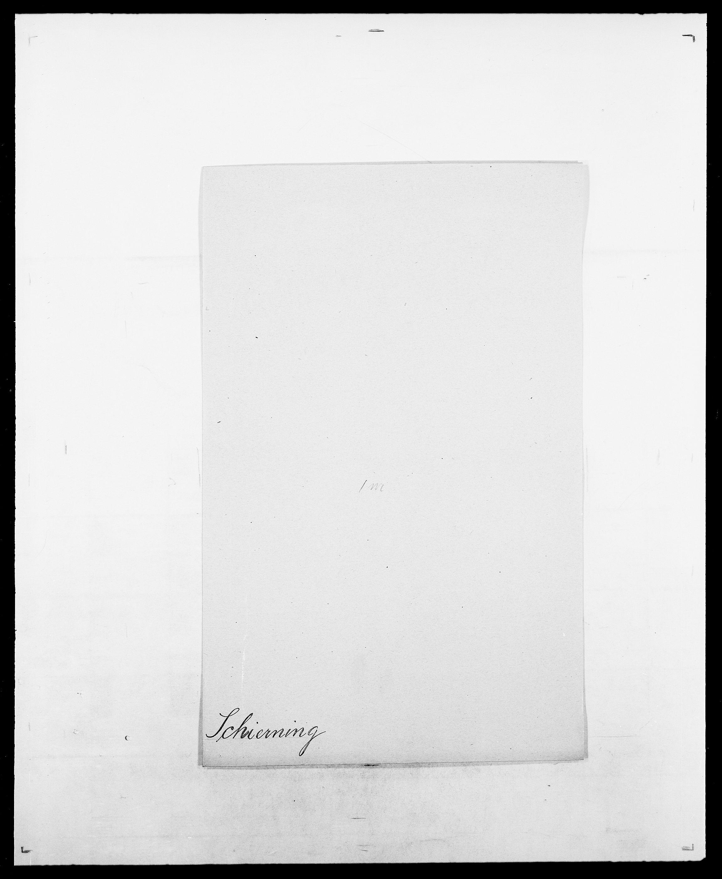 SAO, Delgobe, Charles Antoine - samling, D/Da/L0034: Saabye - Schmincke, s. 518
