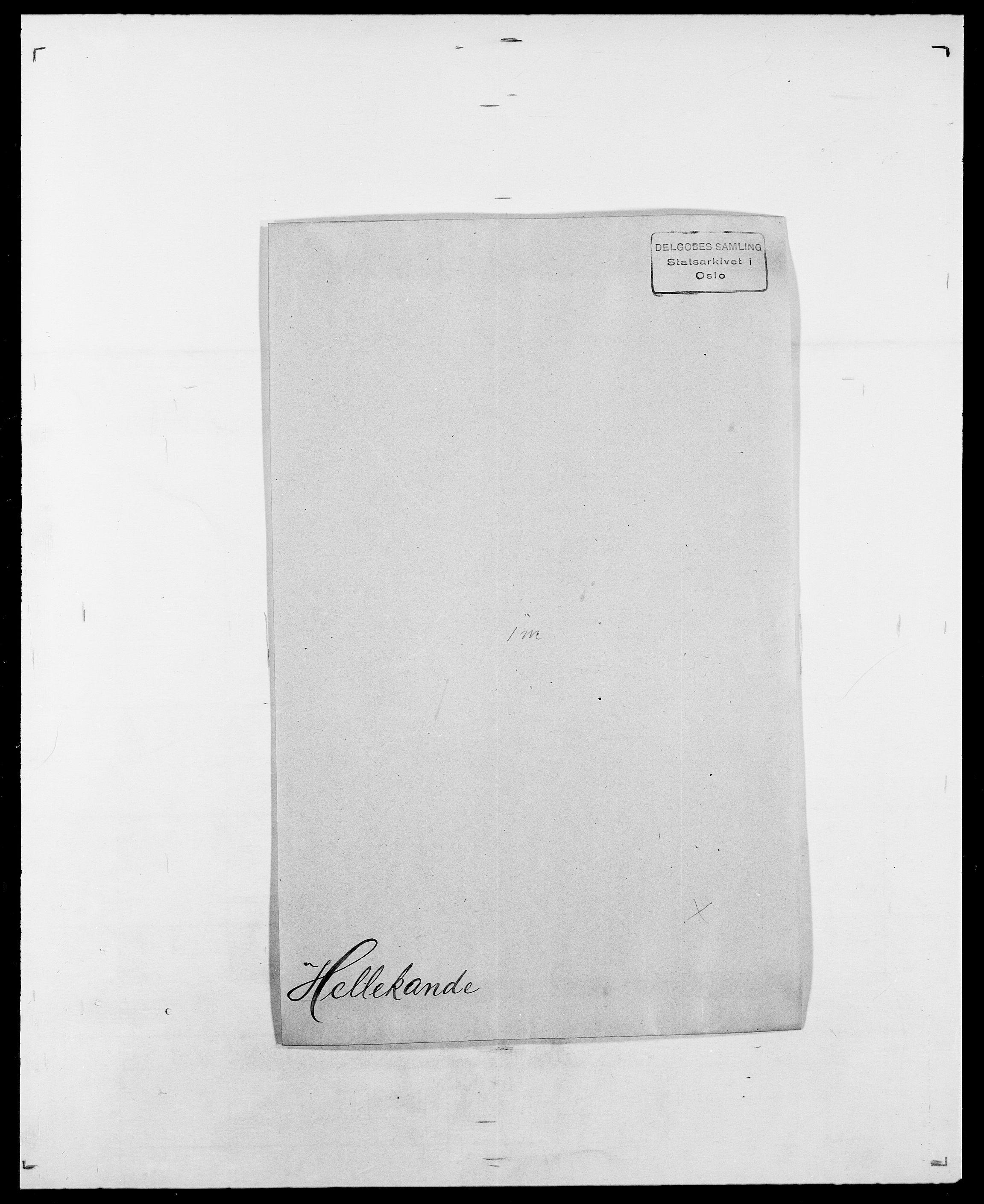 SAO, Delgobe, Charles Antoine - samling, D/Da/L0017: Helander - Hjørne, s. 48
