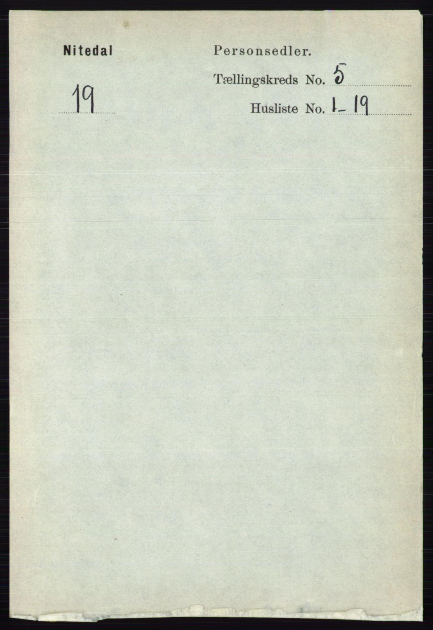 RA, Folketelling 1891 for 0233 Nittedal herred, 1891, s. 2183