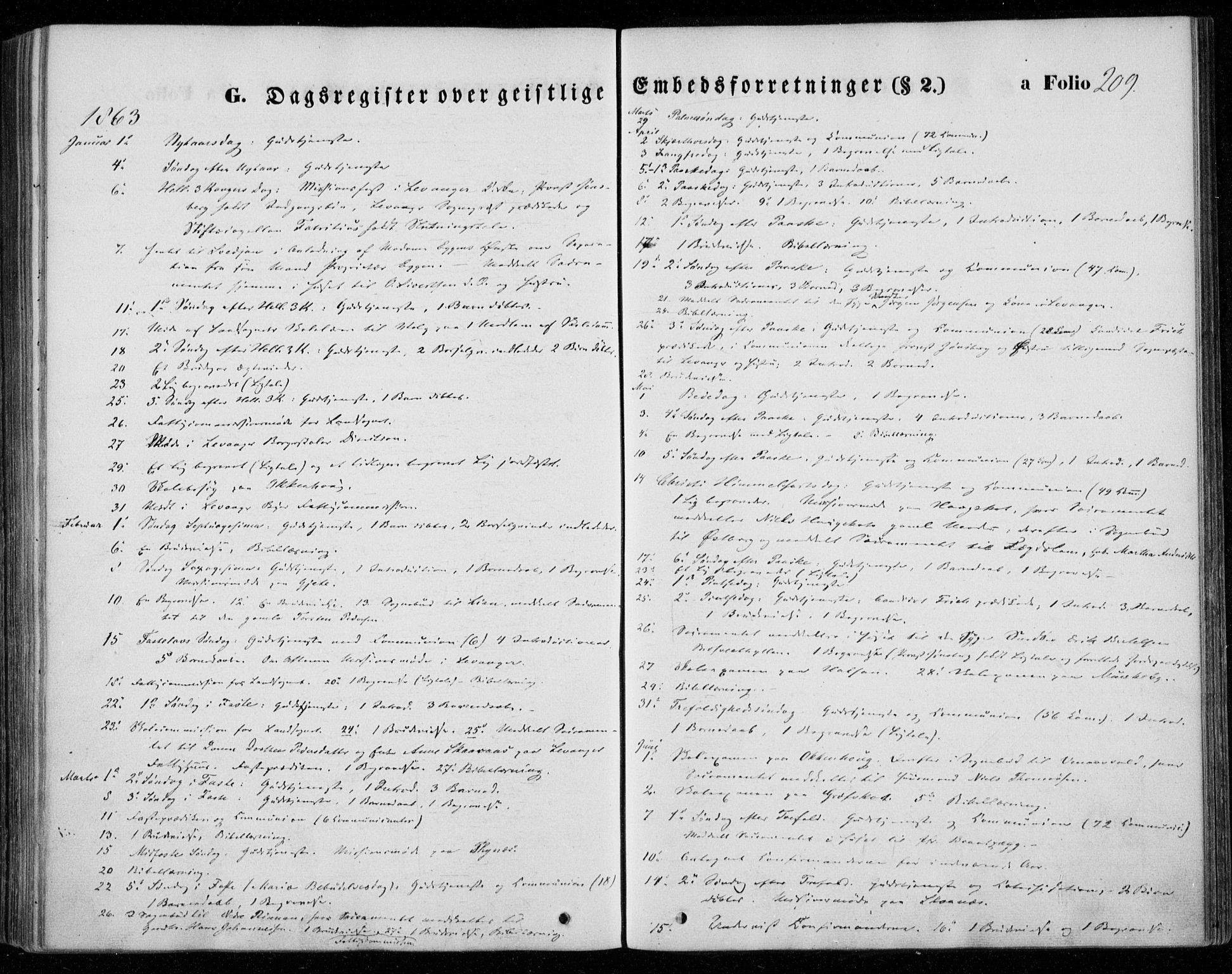 SAT, Ministerialprotokoller, klokkerbøker og fødselsregistre - Nord-Trøndelag, 720/L0184: Ministerialbok nr. 720A02 /1, 1855-1863, s. 209
